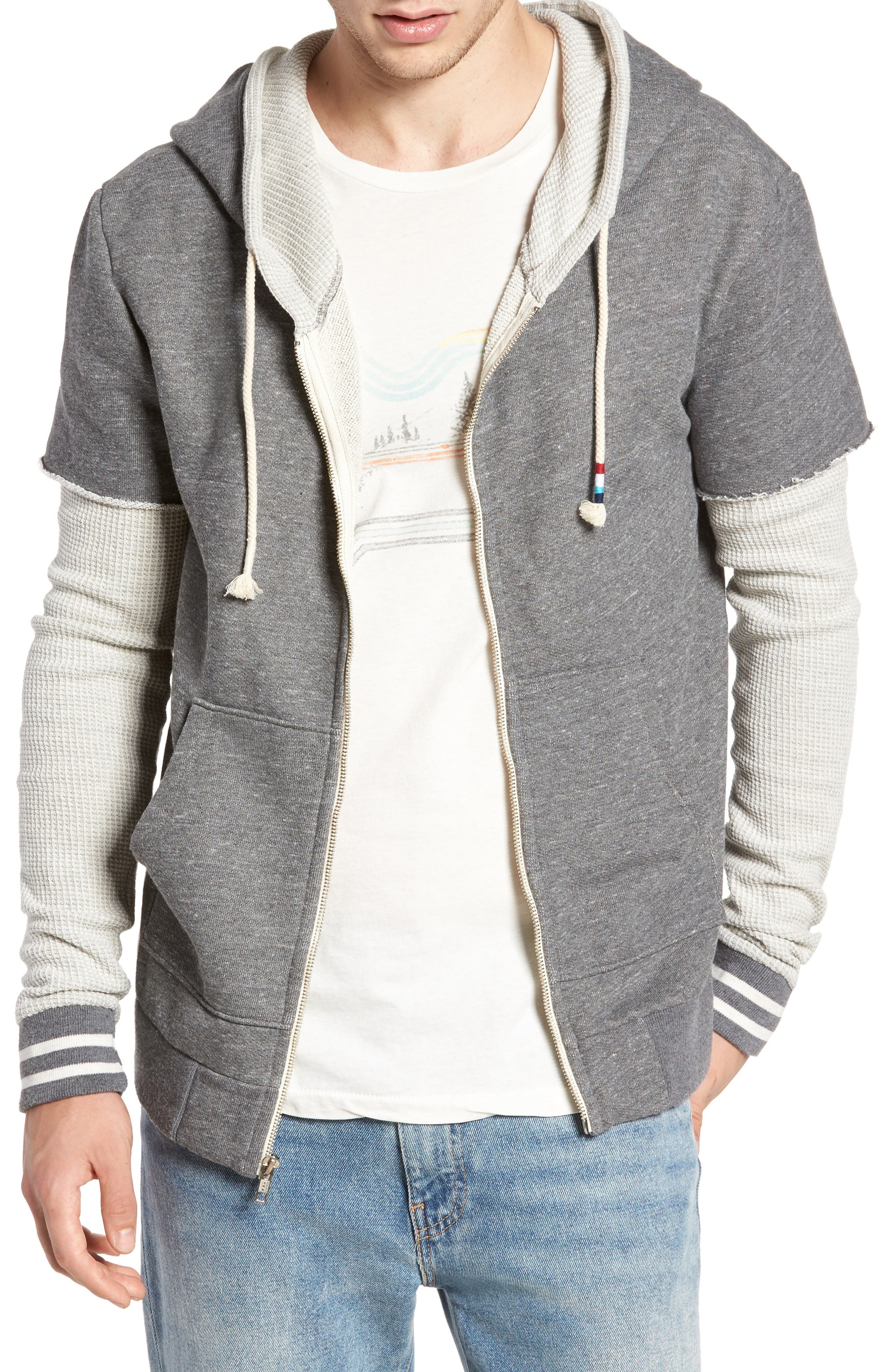 Sol Angeles Layered Hooded Jacket