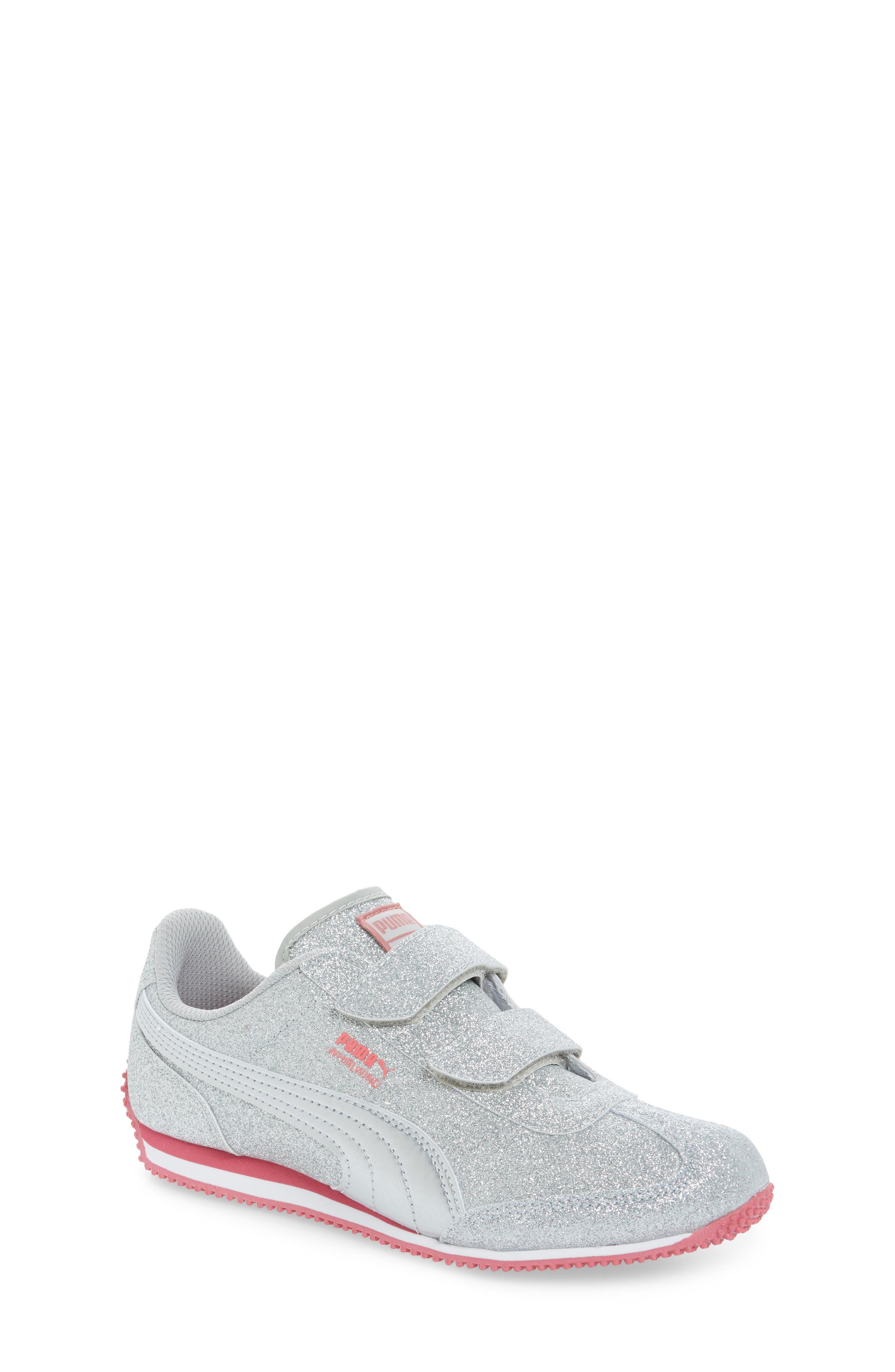 PUMA Whirlwind Glitz Sneaker (Toddler, Little Kid & Big Kid)