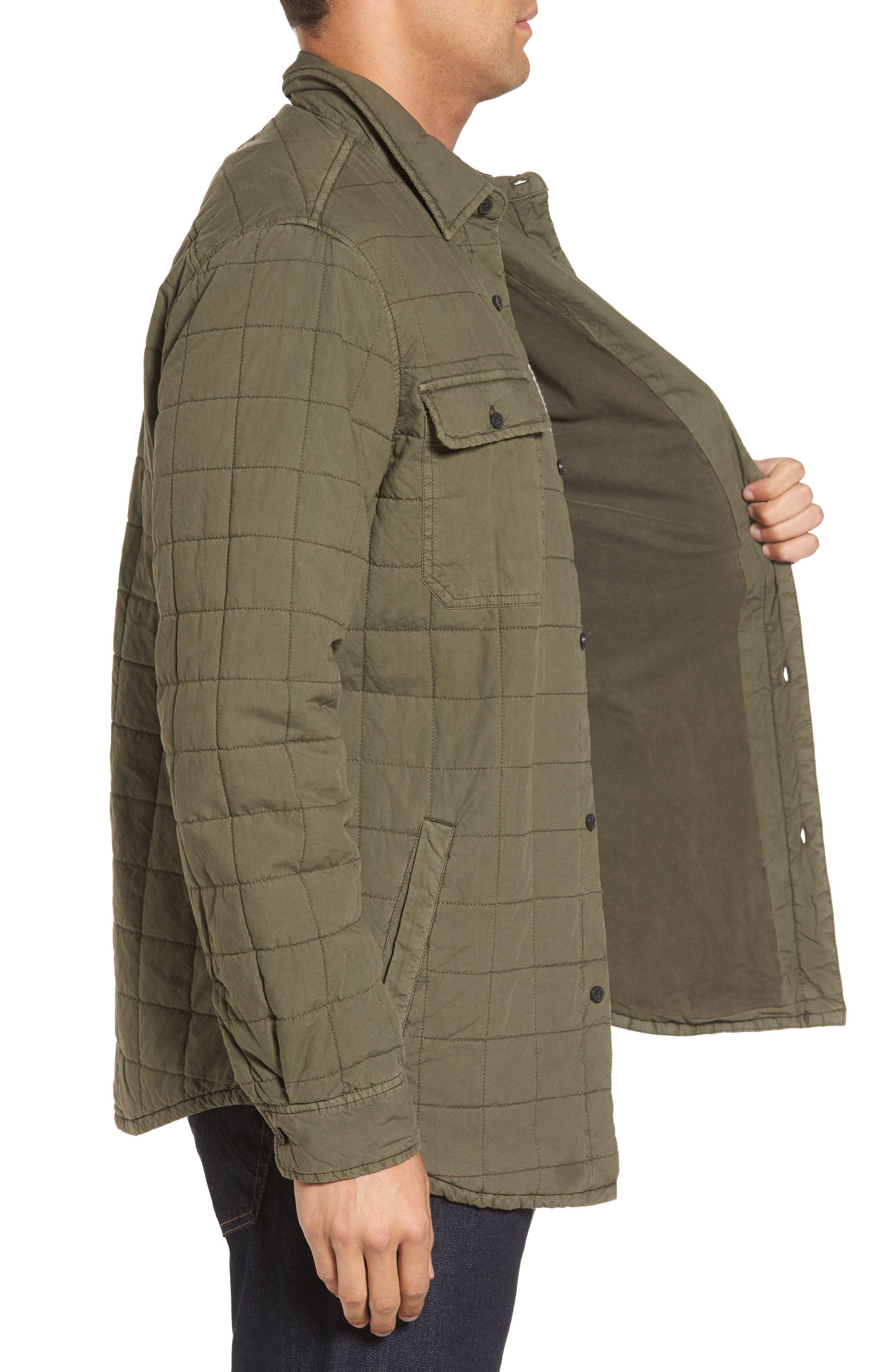 Alternate Image 3  - UGG® Quilted Shirt Jacket