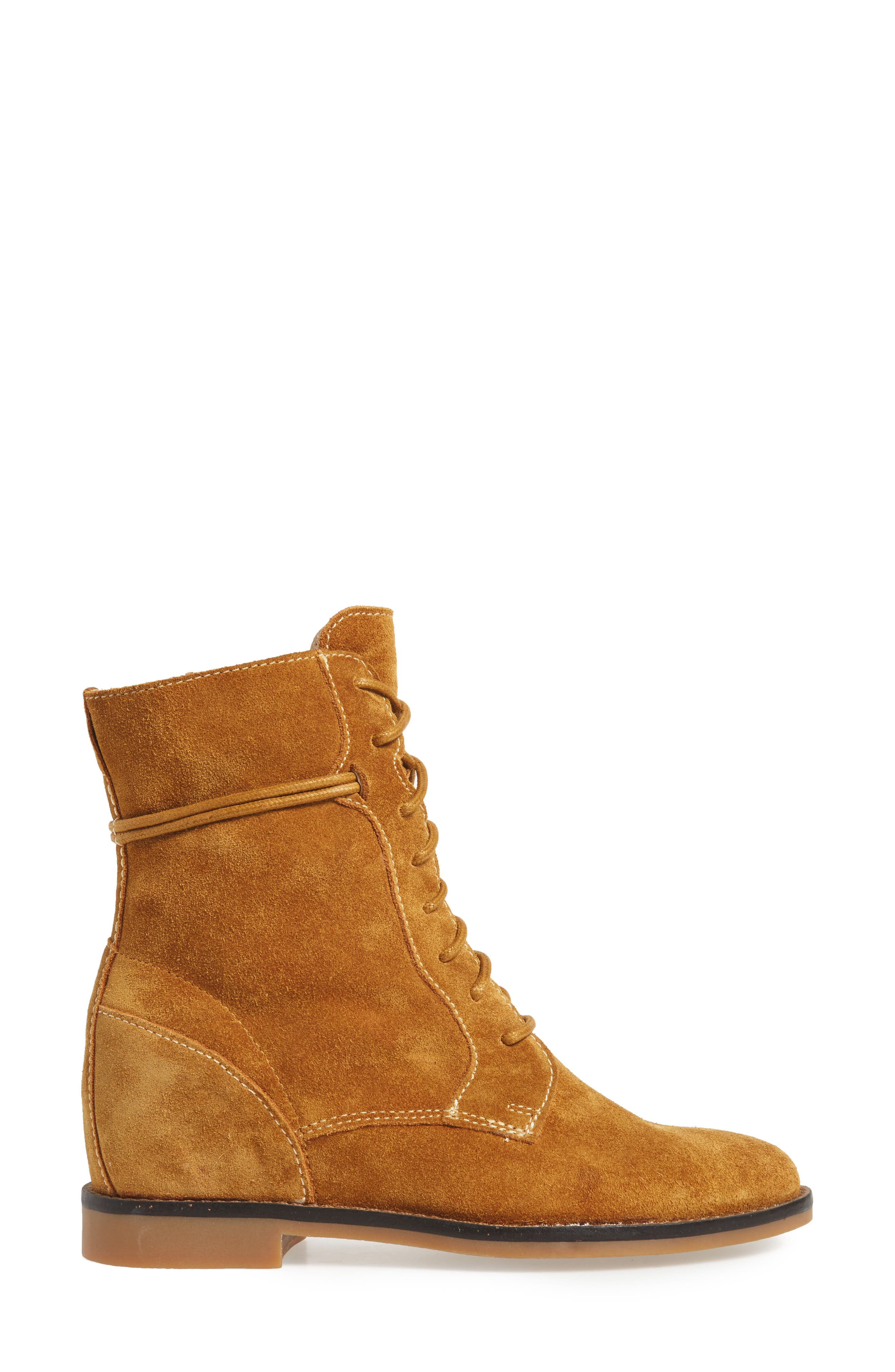 Bab Felise Boot,                             Alternate thumbnail 2, color,                             Camel Suede