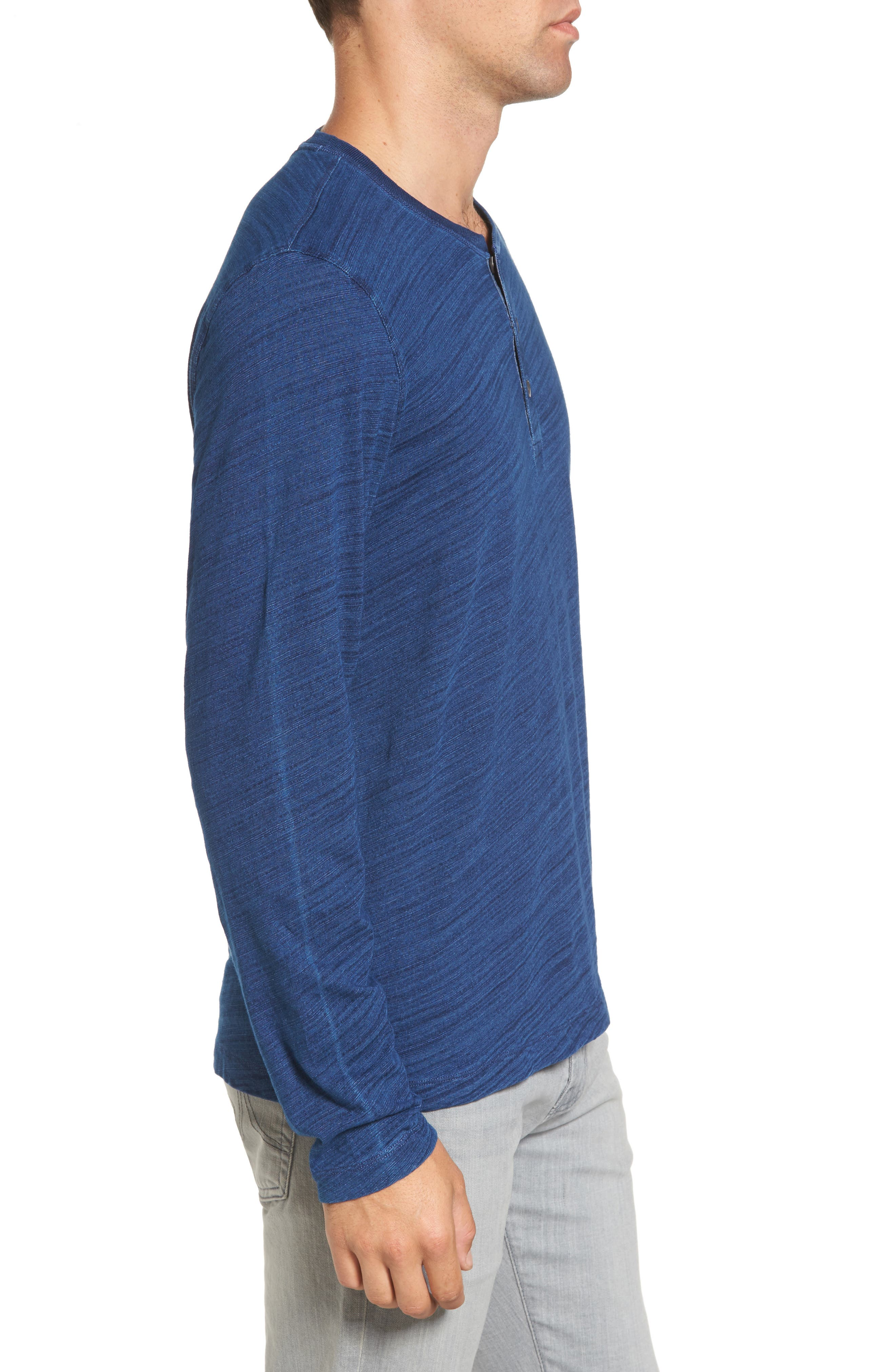 Alternate Image 3  - Tailor Vintage Slub Jersey Henley