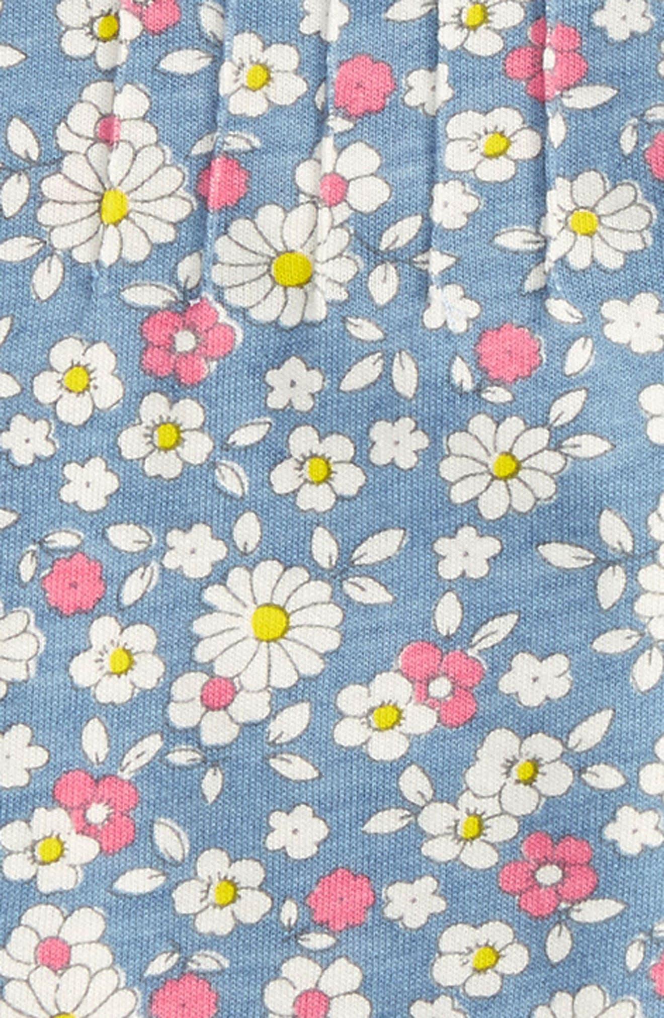 Alternate Image 2  - Mini Boden Pretty Printed Shirt (Baby Girls & Toddler Girls)