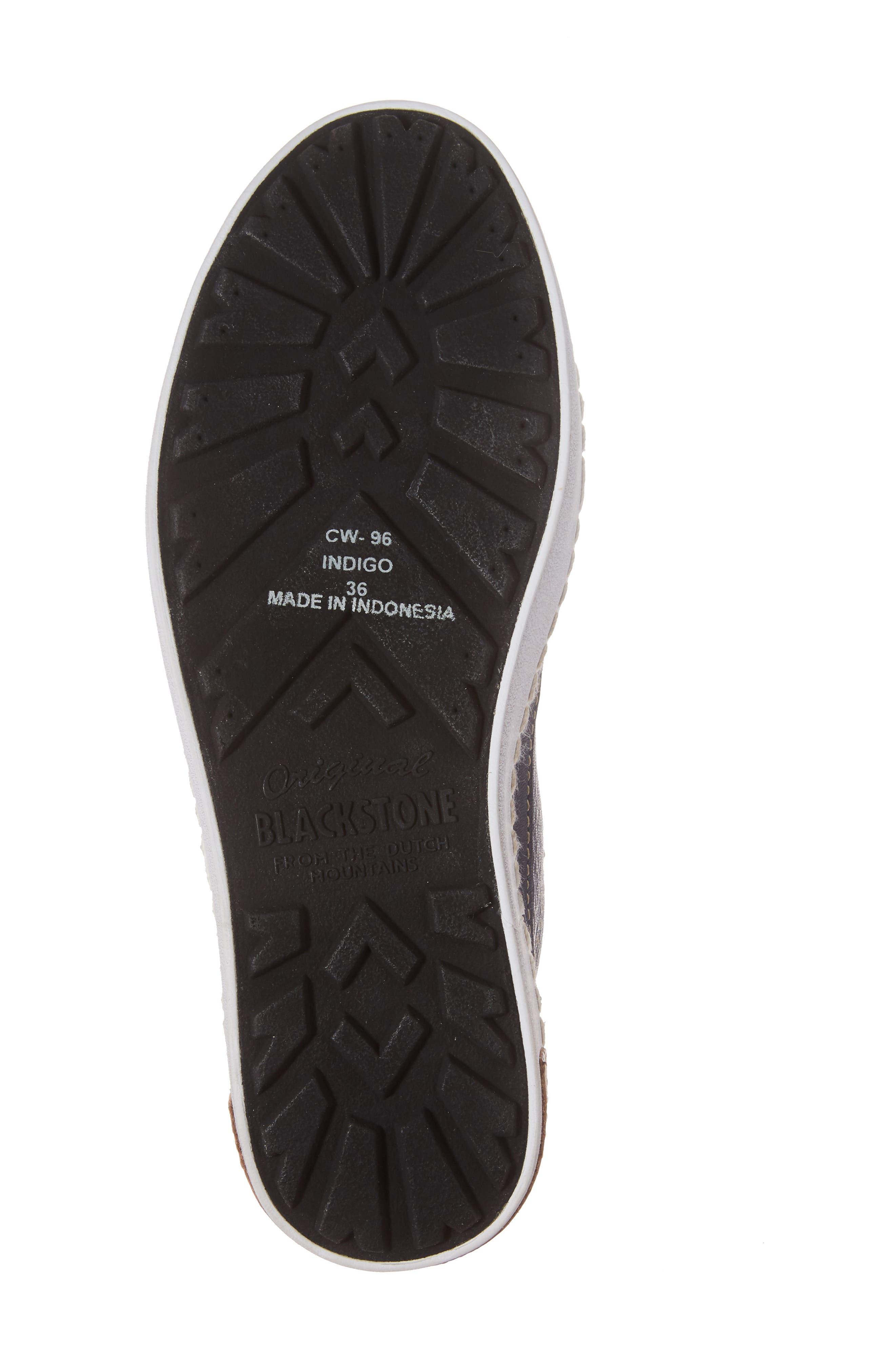 Alternate Image 6  - Blackstone 'CW96' Genuine Shearling Lined Sneaker Boot (Women)