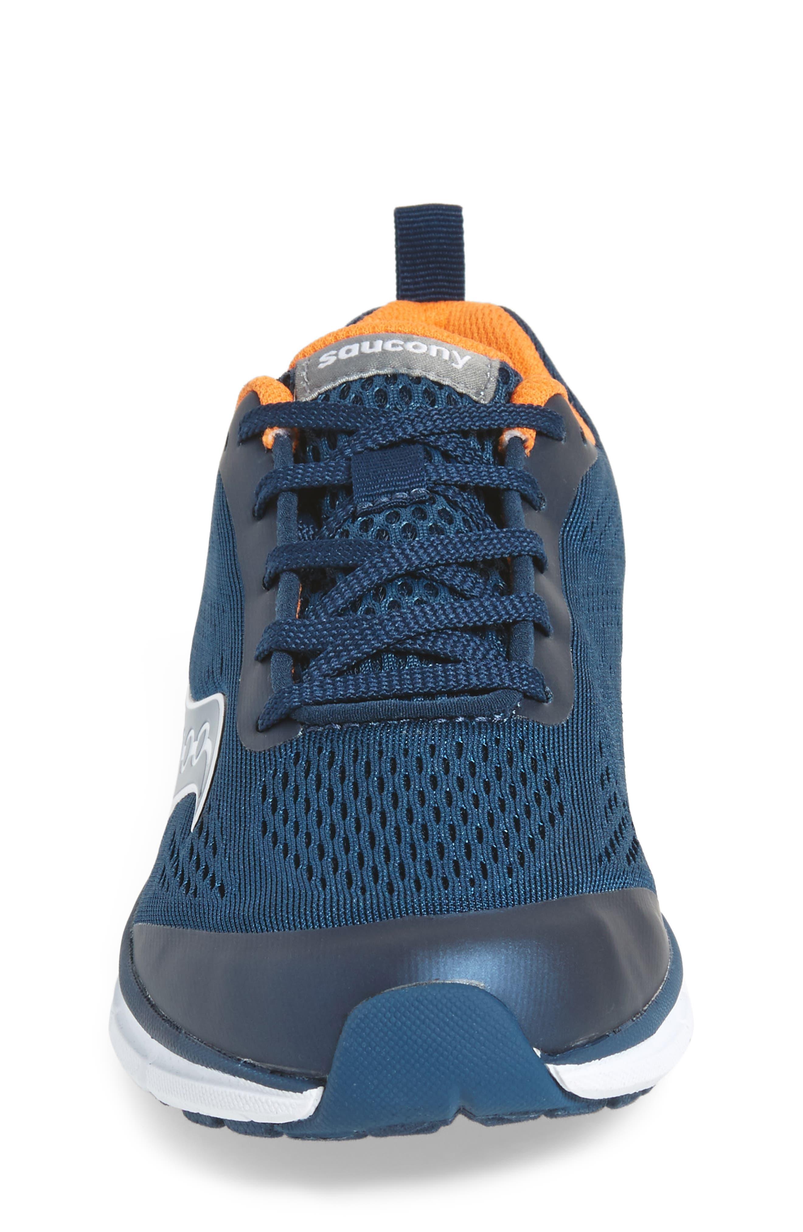 Alternate Image 4  - Saucony Ideal Sneaker (Toddler, Little Kid & Big Kid)