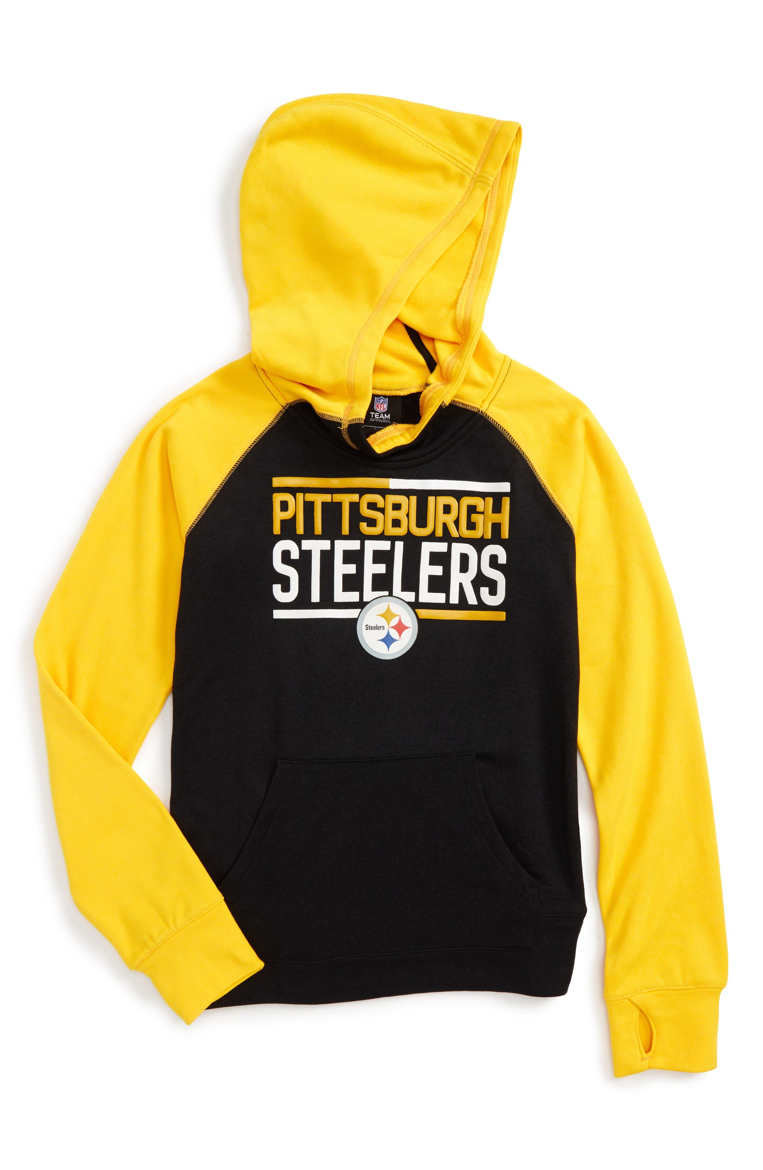 Outerstuff NFL Pittsburgh Steelers Hoodie (Big Girls)