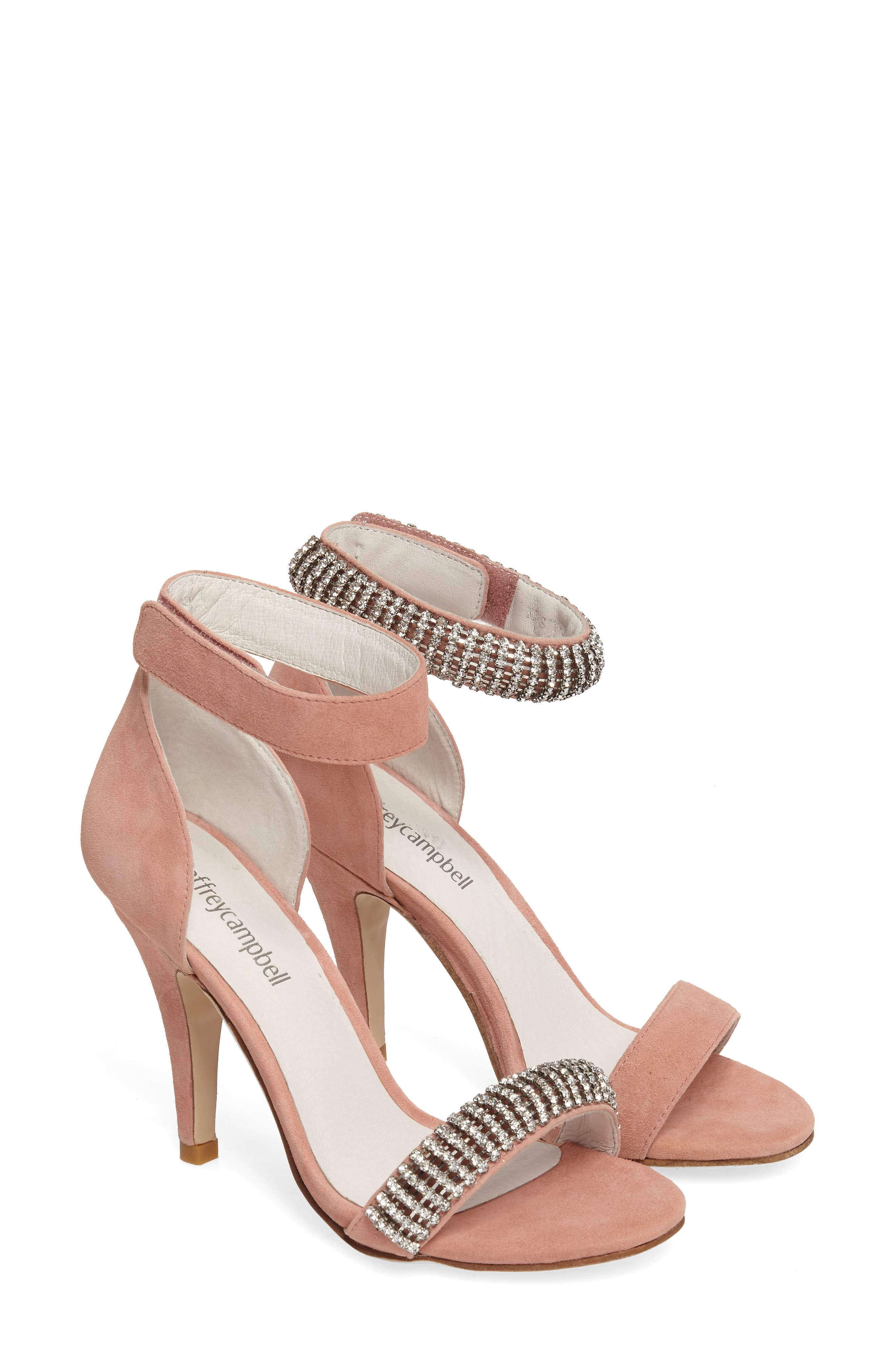 Alternate Image 1 Selected - Jeffrey Campbell Kristy Ankle Strap Sandal (Women)