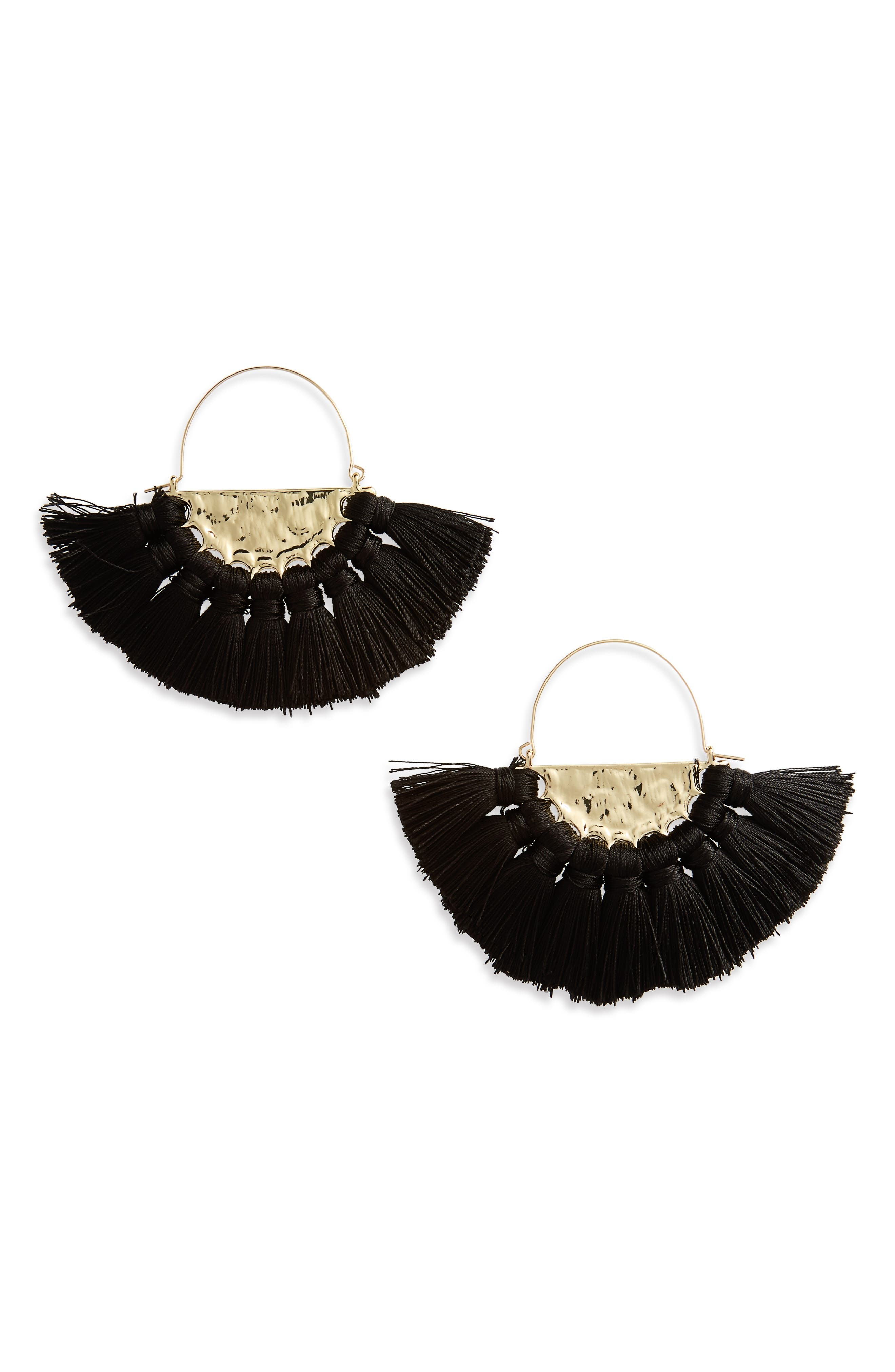 BP. Oversize Fan Earrings