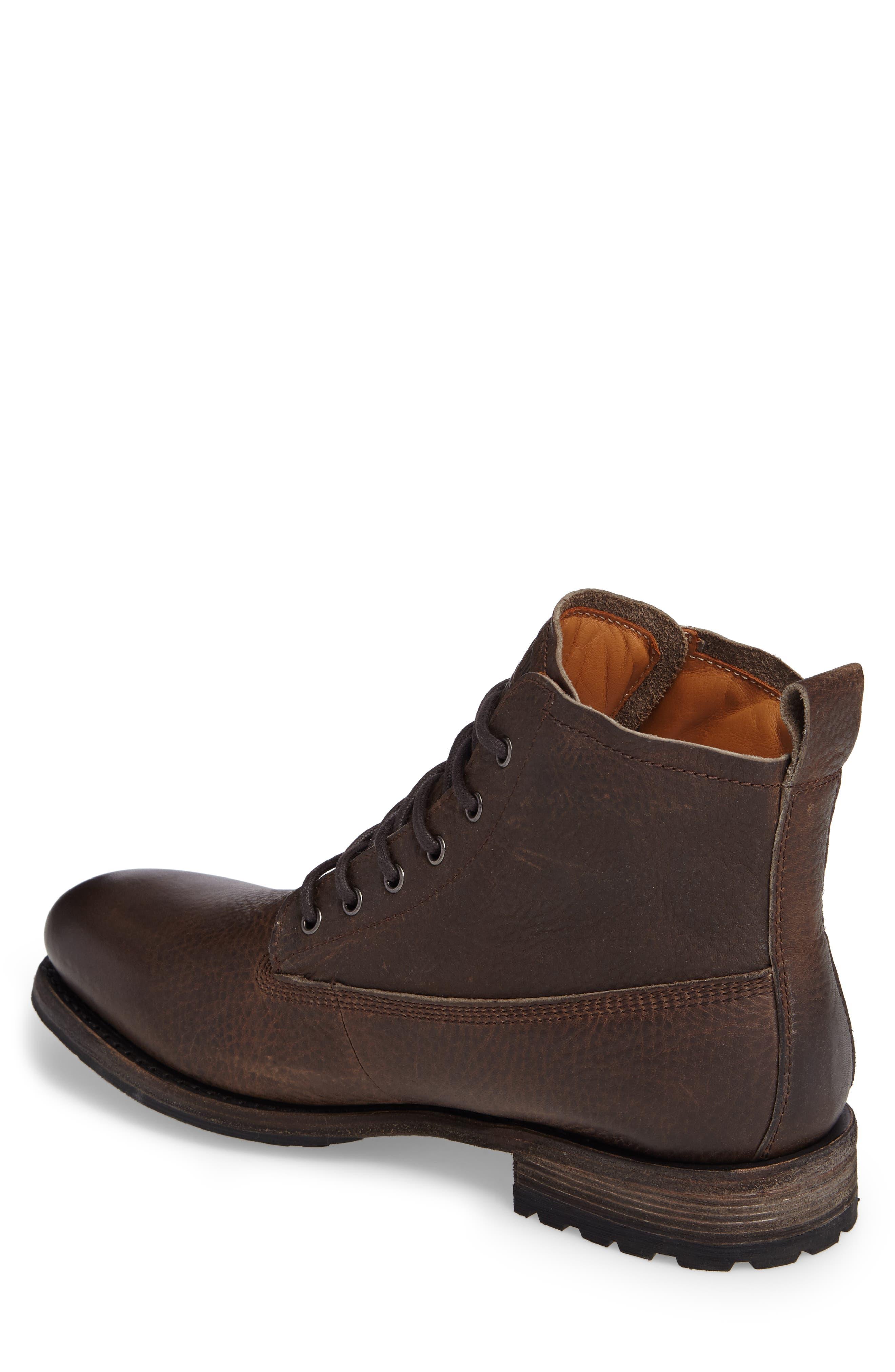 'GM 09' Plain Toe Boot,                             Alternate thumbnail 2, color,                             Gull Leather