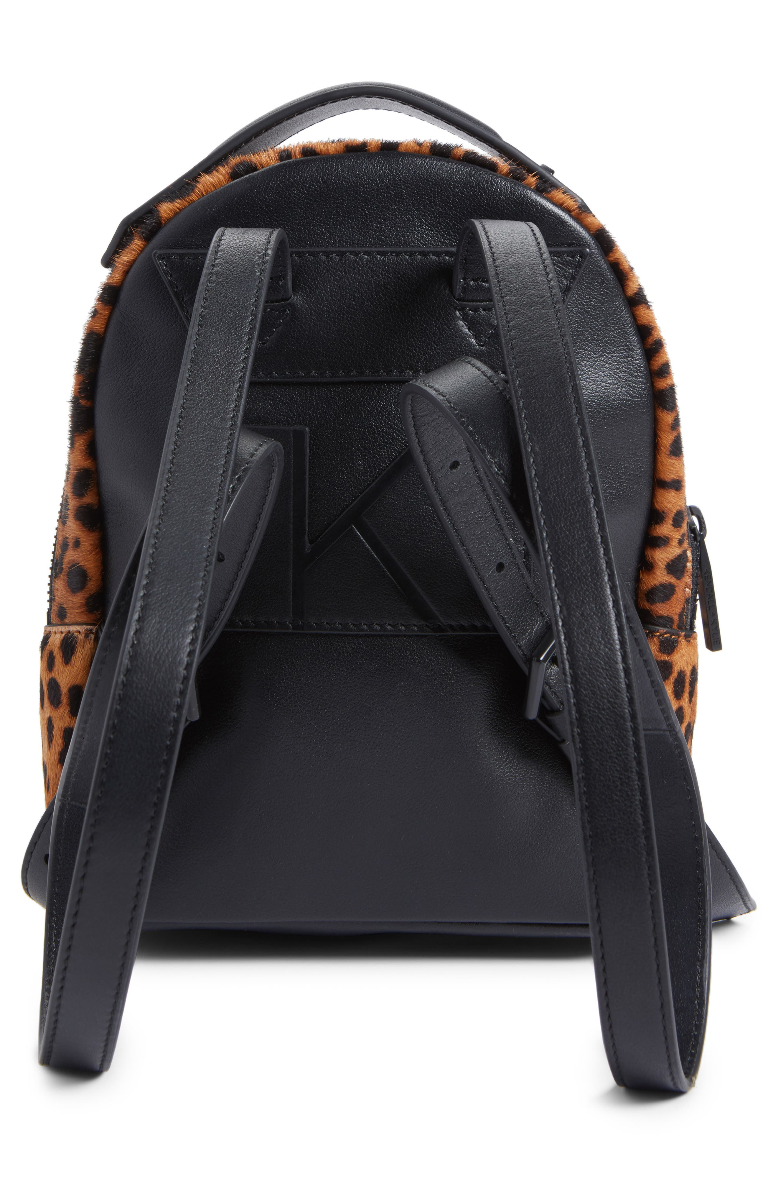 Alternate Image 3  - KENDALL + KYLIE Mini Sloane Genuine Calf Hair & Leather Backpack