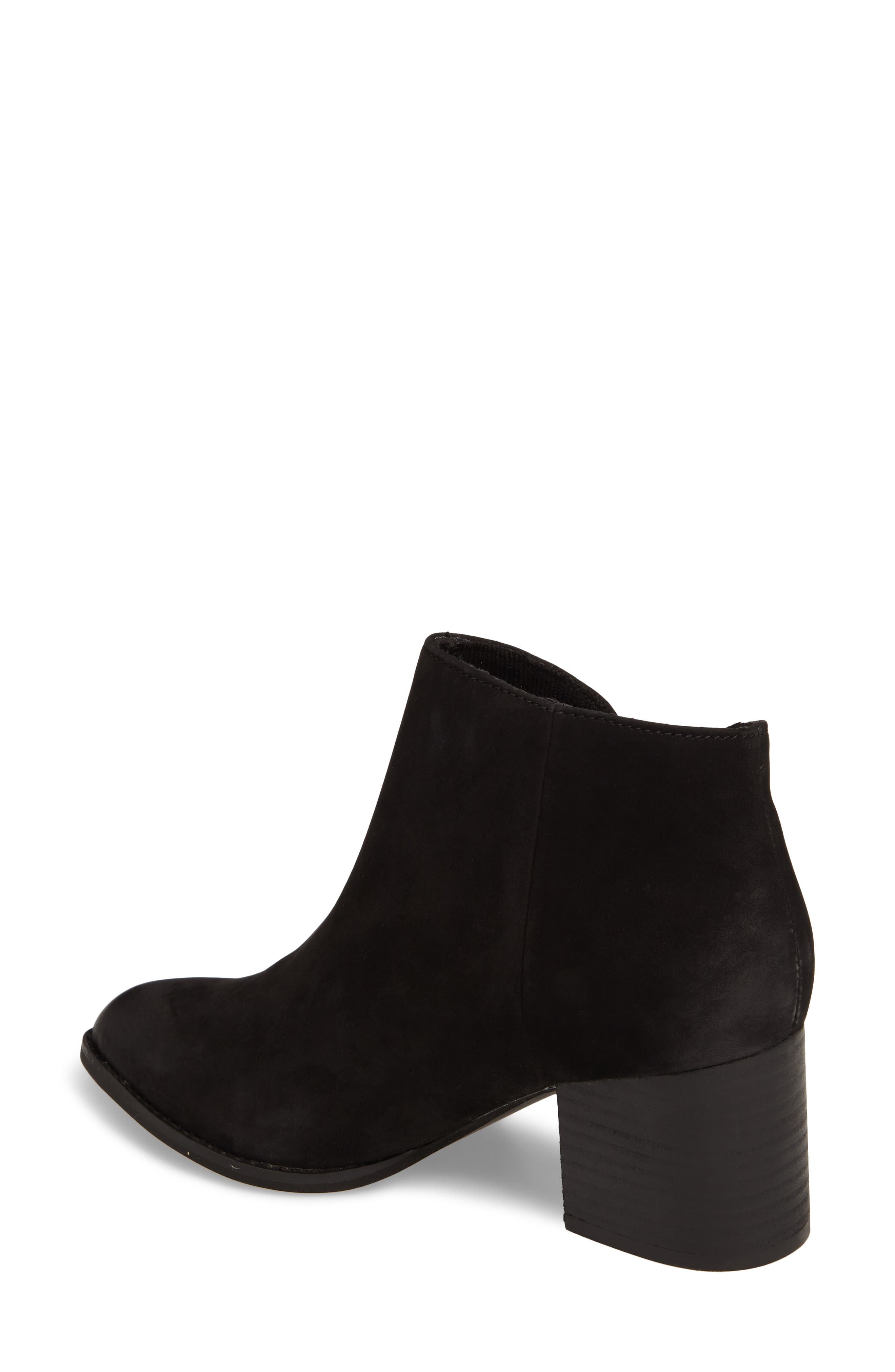 Chaparral Bootie,                             Alternate thumbnail 2, color,                             Black Leather