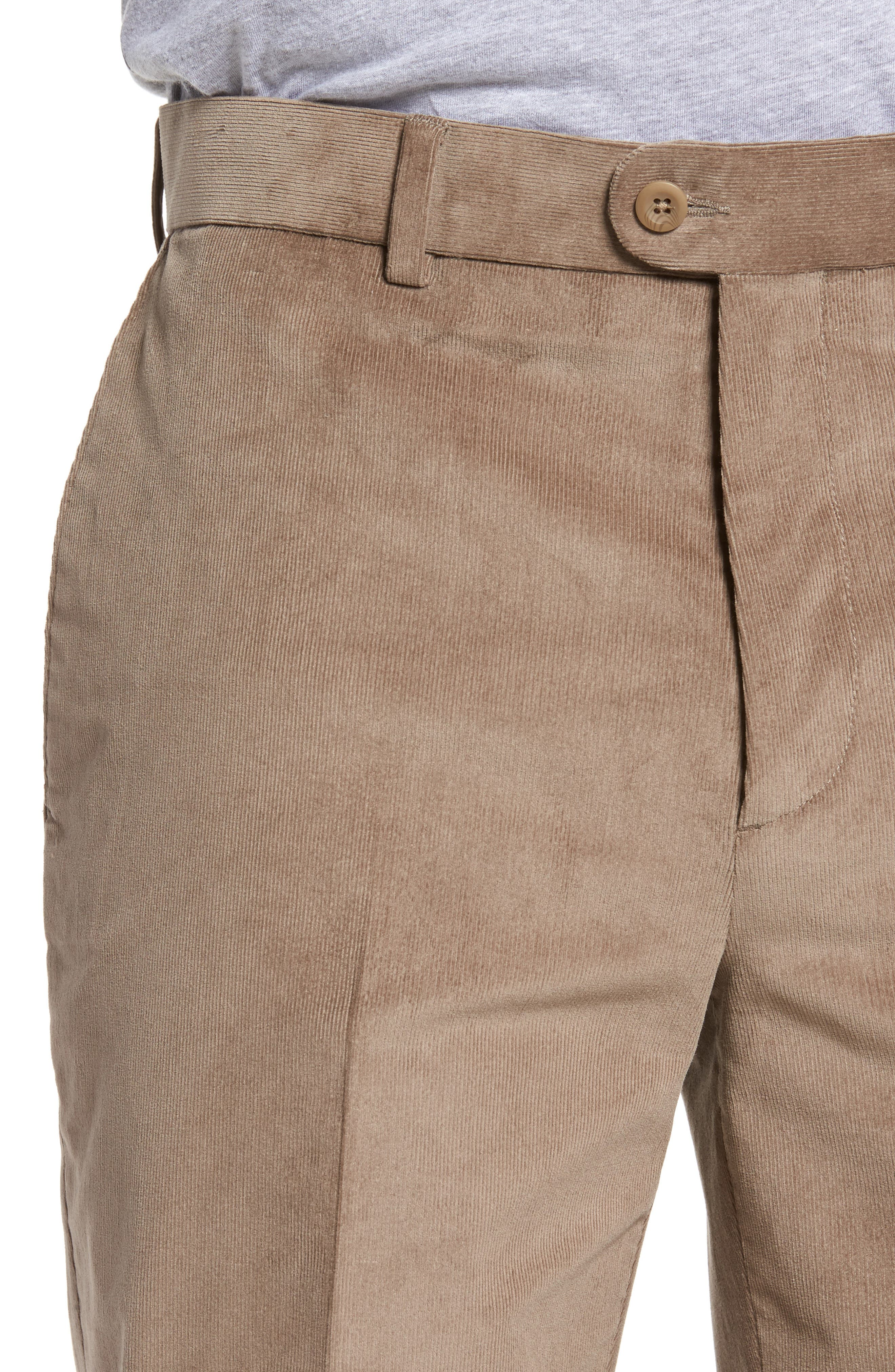 Corduroy Pants,                             Alternate thumbnail 4, color,                             Tan