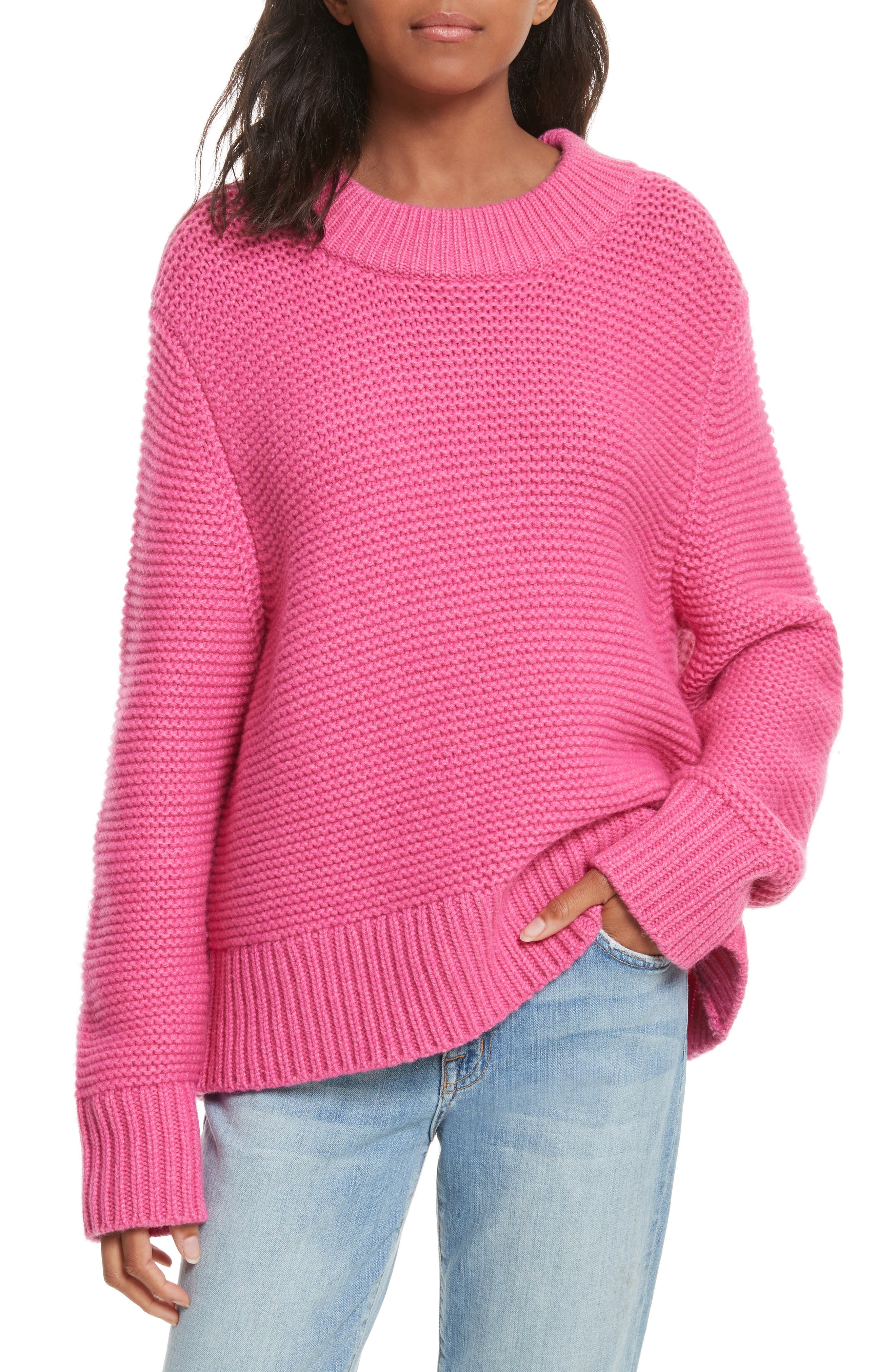 Joie Adeen Drop Shoulder Wool & Cashmere Sweater