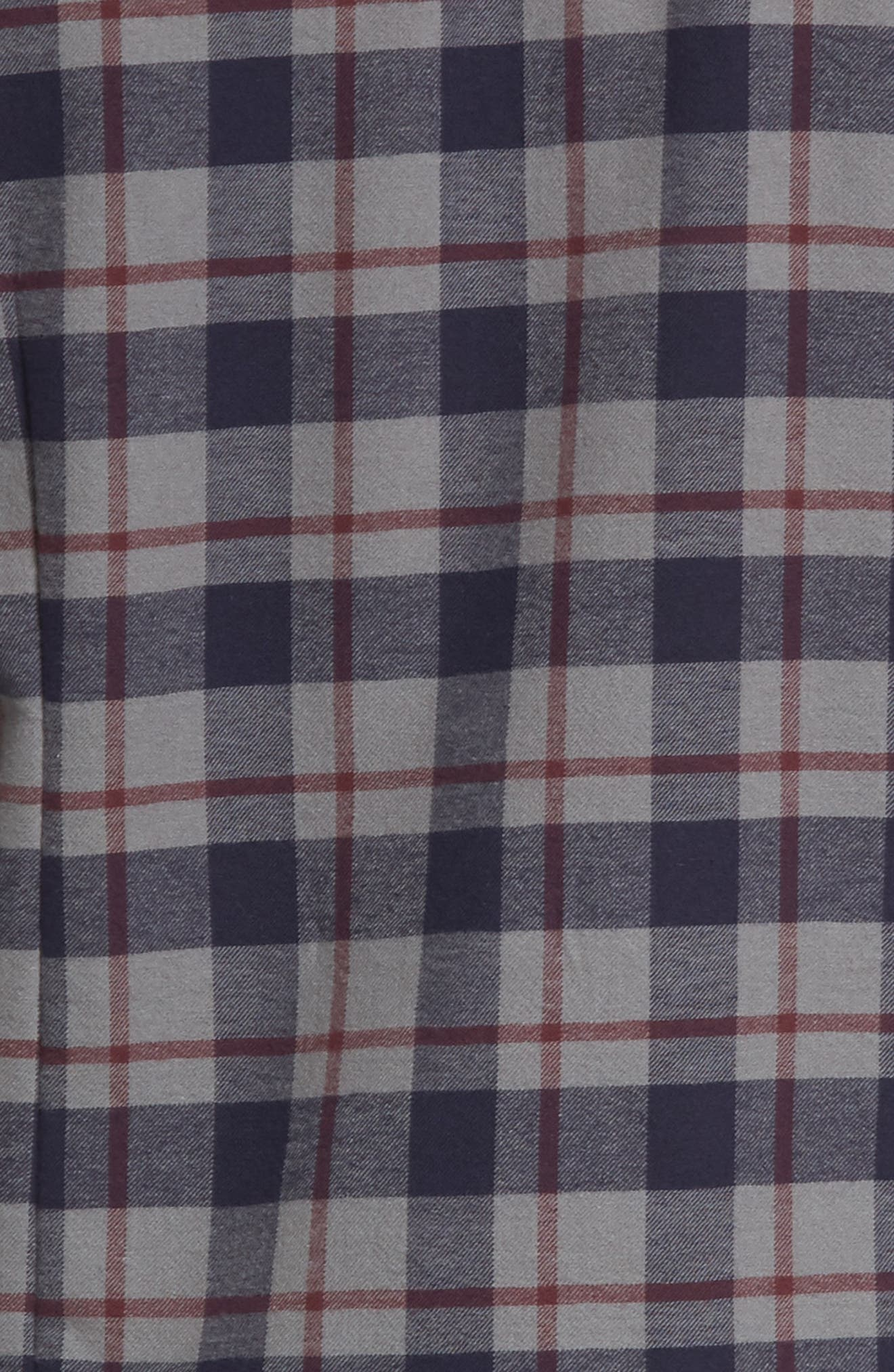 Hamilton Regular Fit Faux Fur Lined Shirt Jacket,                             Alternate thumbnail 5, color,                             Grey