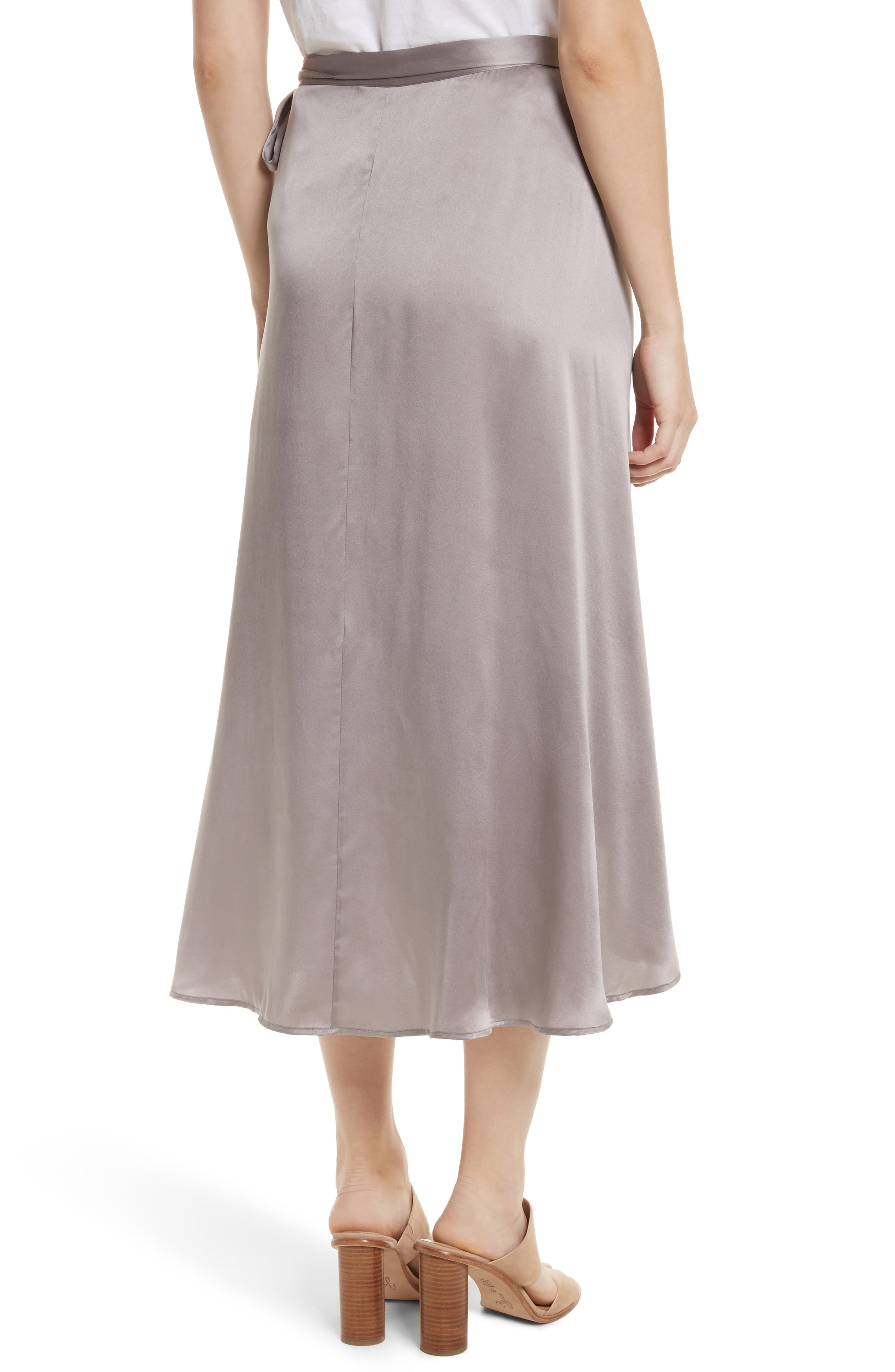 Alternate Image 2  - Joie Dahoma Silk Wrap Midi Skirt