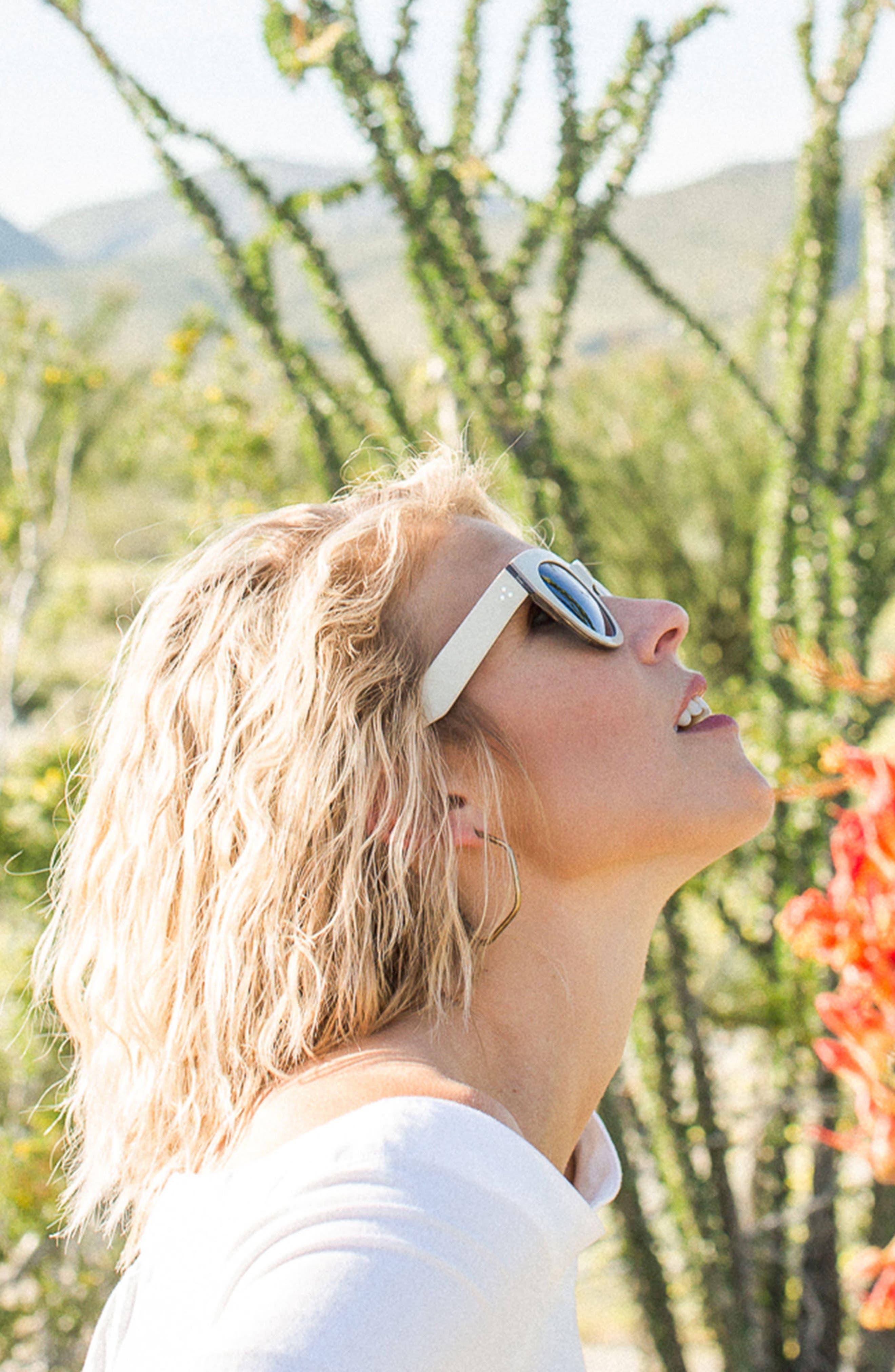 Pila 52mm Polarized Sunglasses,                             Alternate thumbnail 4, color,