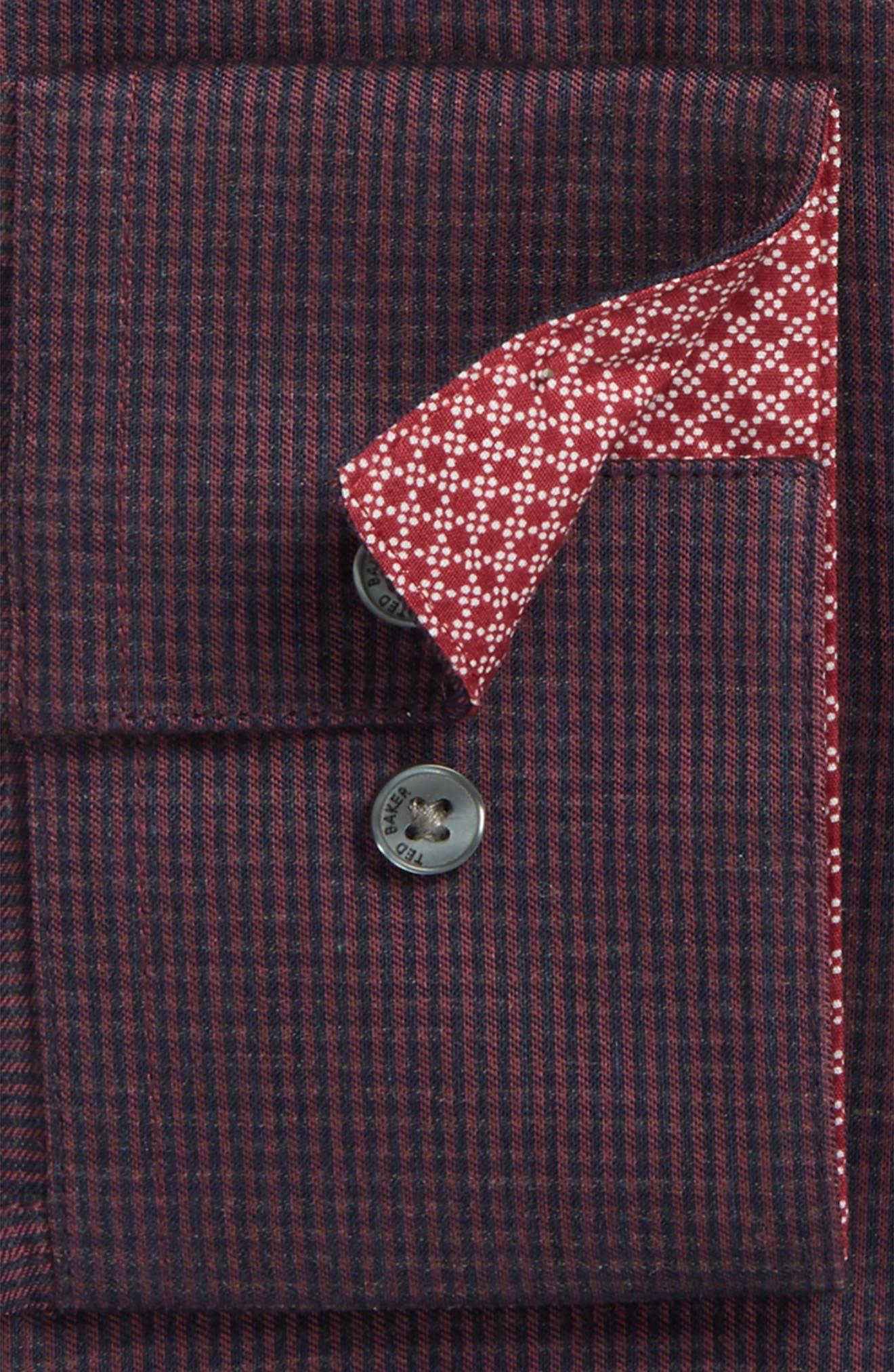 Alternate Image 2  - Ted Baker London Endurance Trim Fit Pattern Dress Shirt