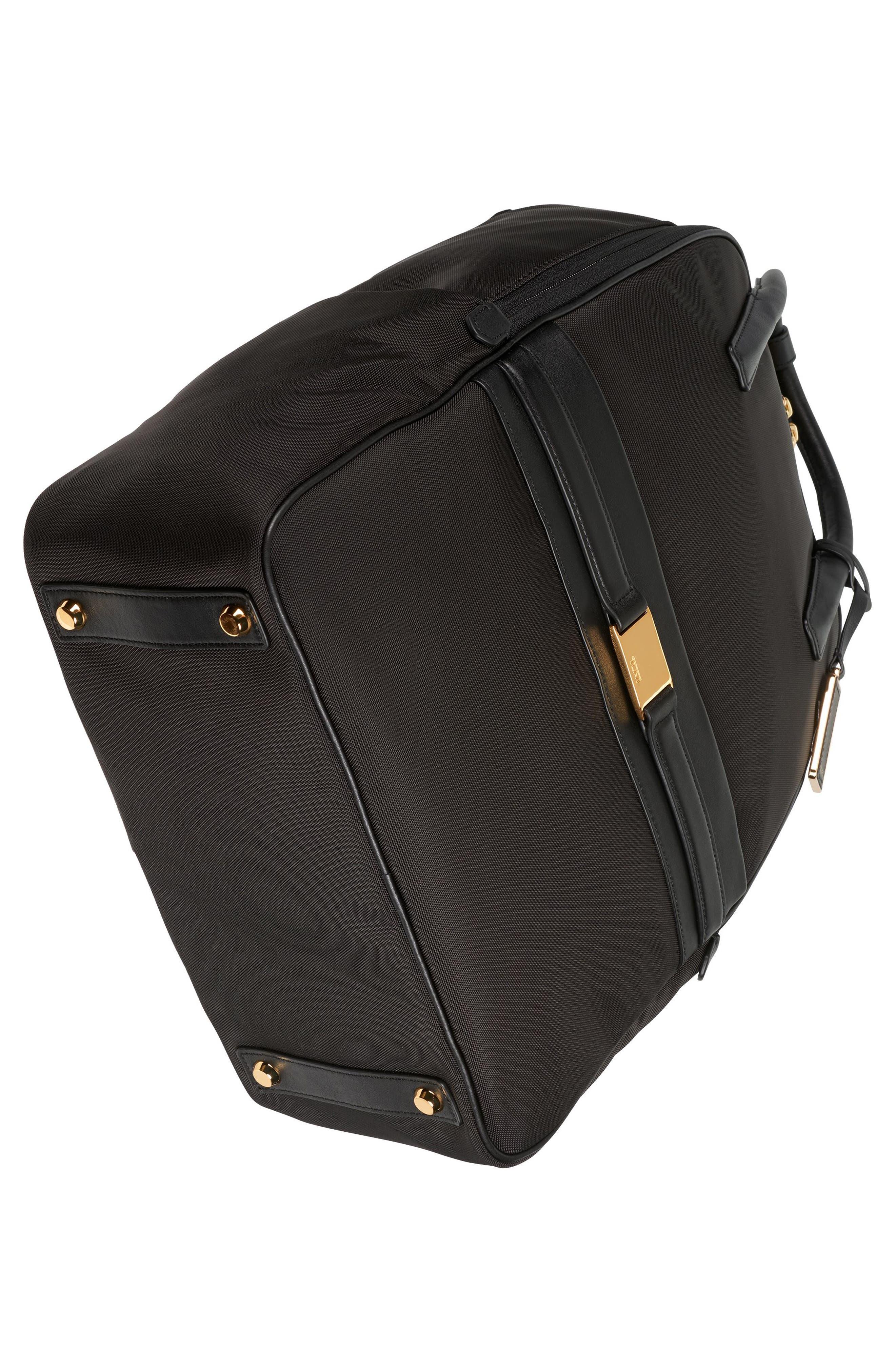 Larkin - Paterson Convertible Nylon Backpack,                             Alternate thumbnail 5, color,                             Black