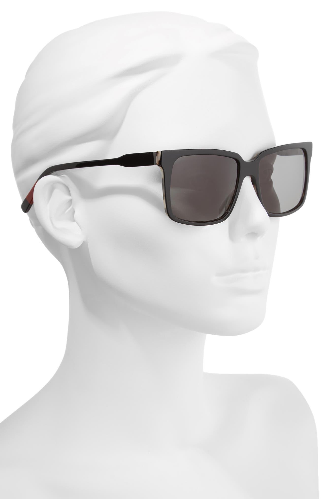 Alternate Image 2  - ED Ellen DeGeneres 56mm Gradient Square Sunglasses