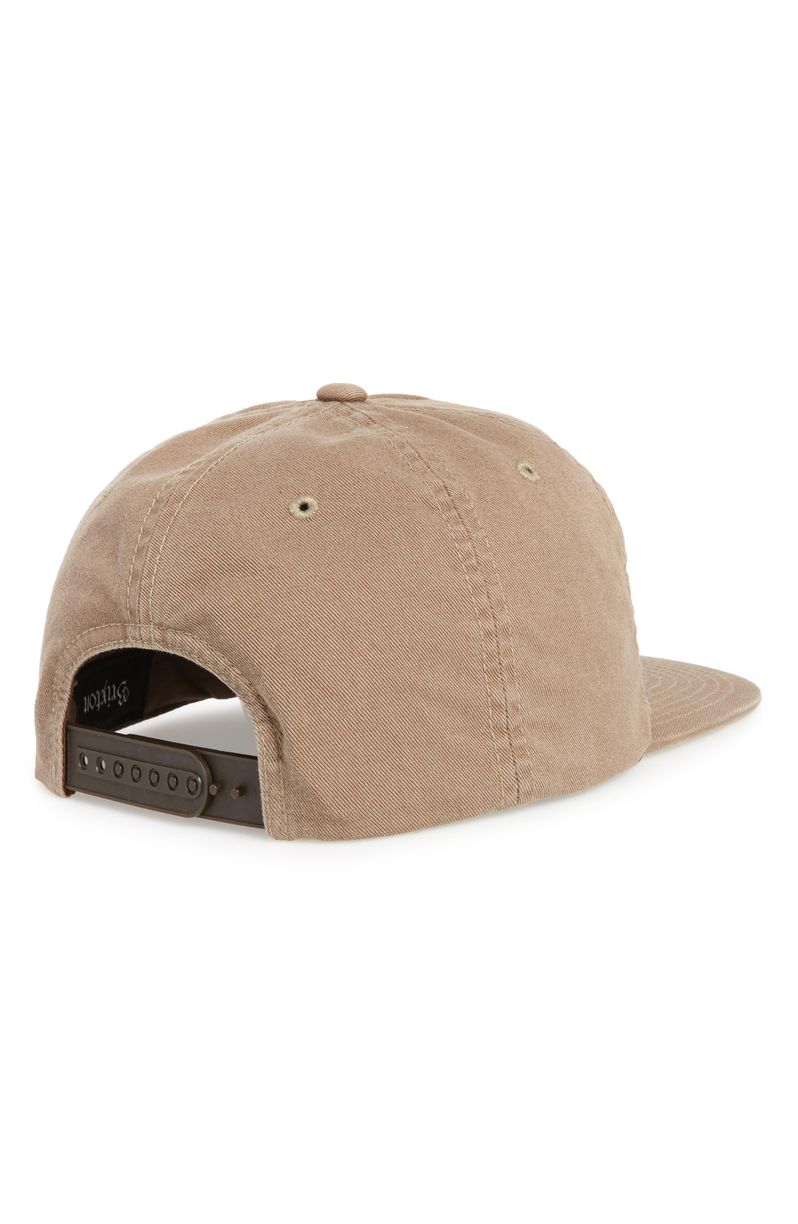 Grade II Snapback Baseball Cap,                             Alternate thumbnail 2, color,                             Washed Mocha