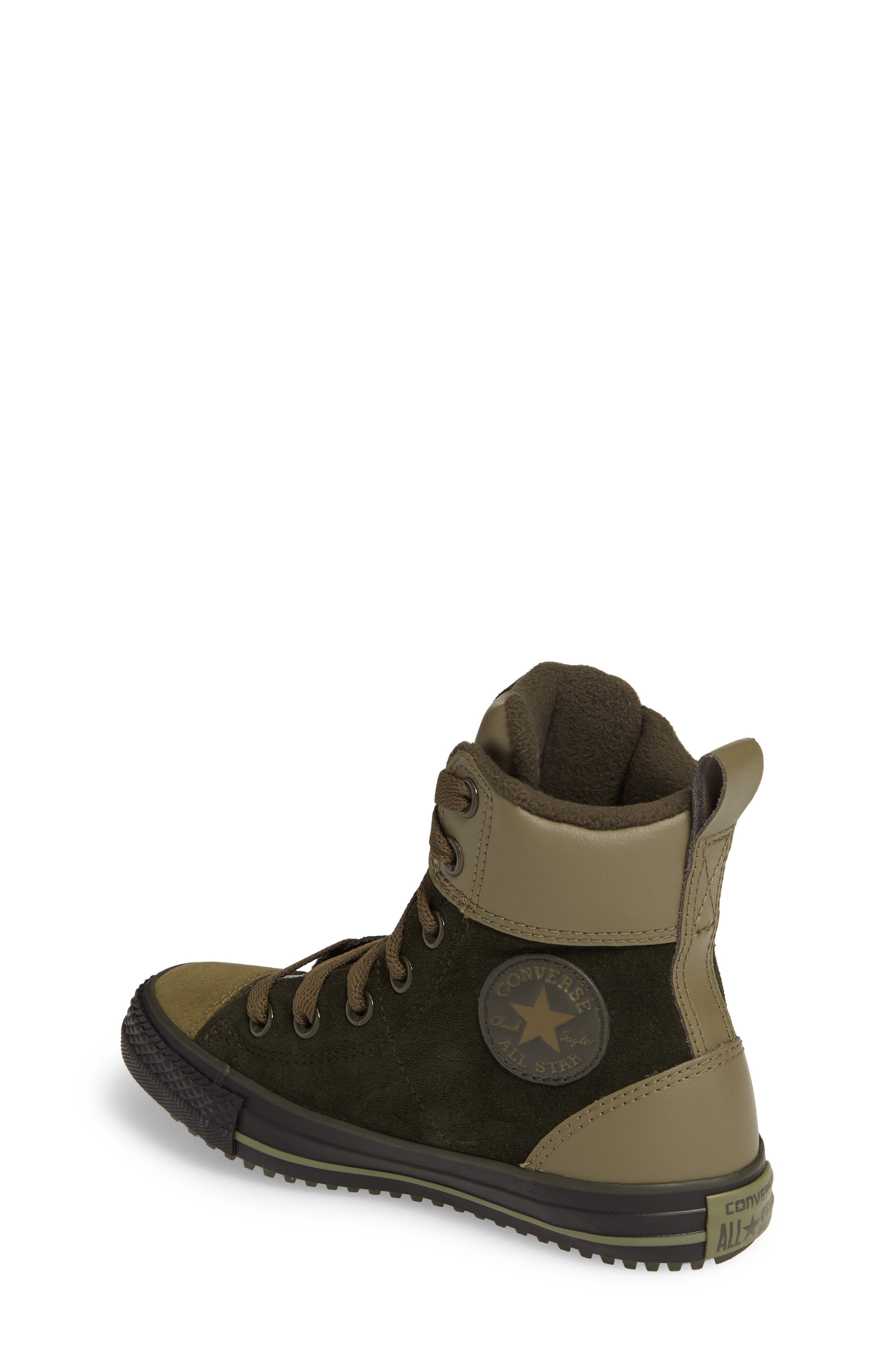 Chuck Taylor<sup>®</sup> All Star<sup>®</sup> Asphalt Sneaker Boot,                             Alternate thumbnail 2, color,                             Sequoia