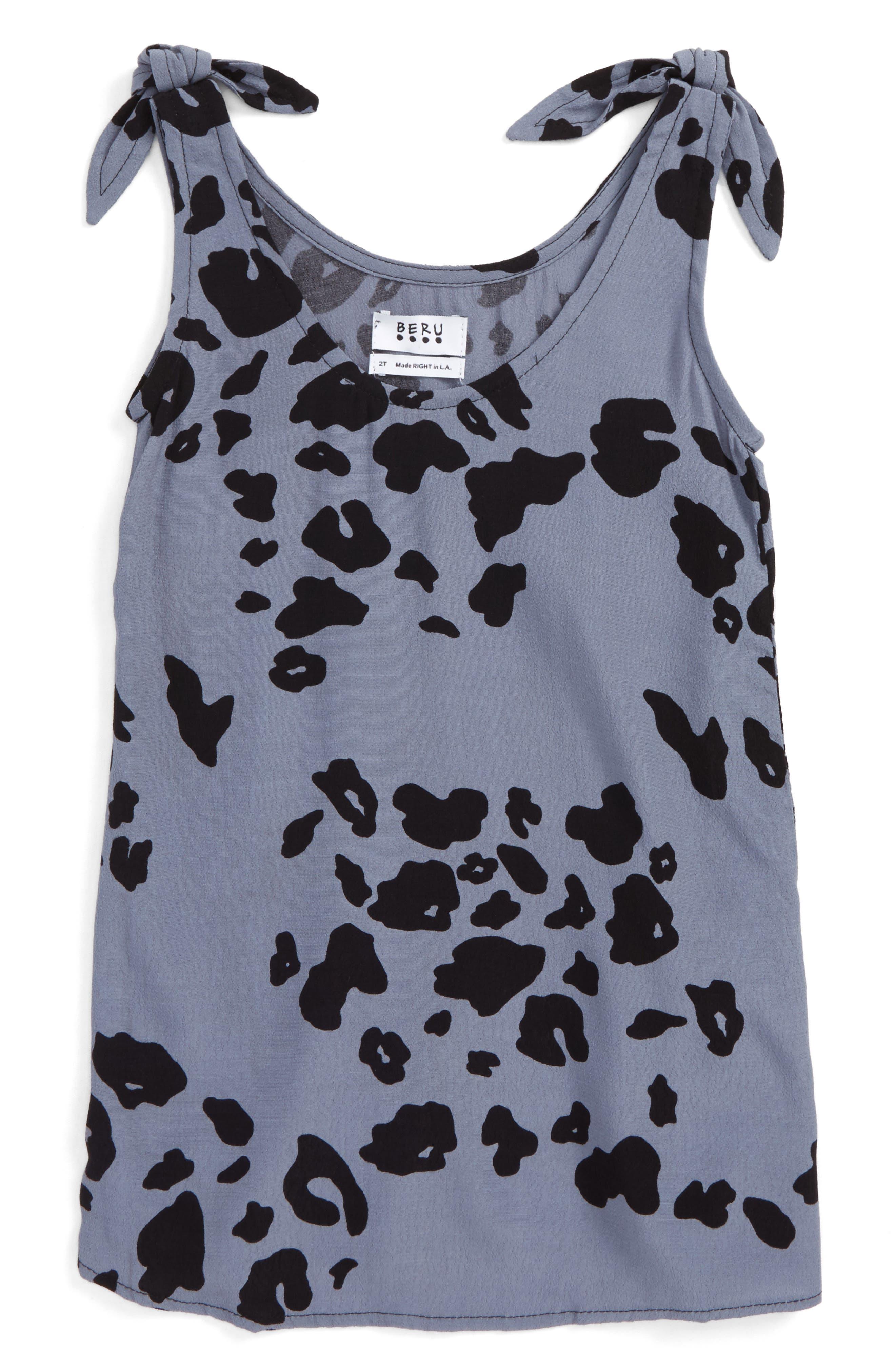 Alternate Image 3  - BERU Aria Shift Dress (Toddler Girls & Little Girls)
