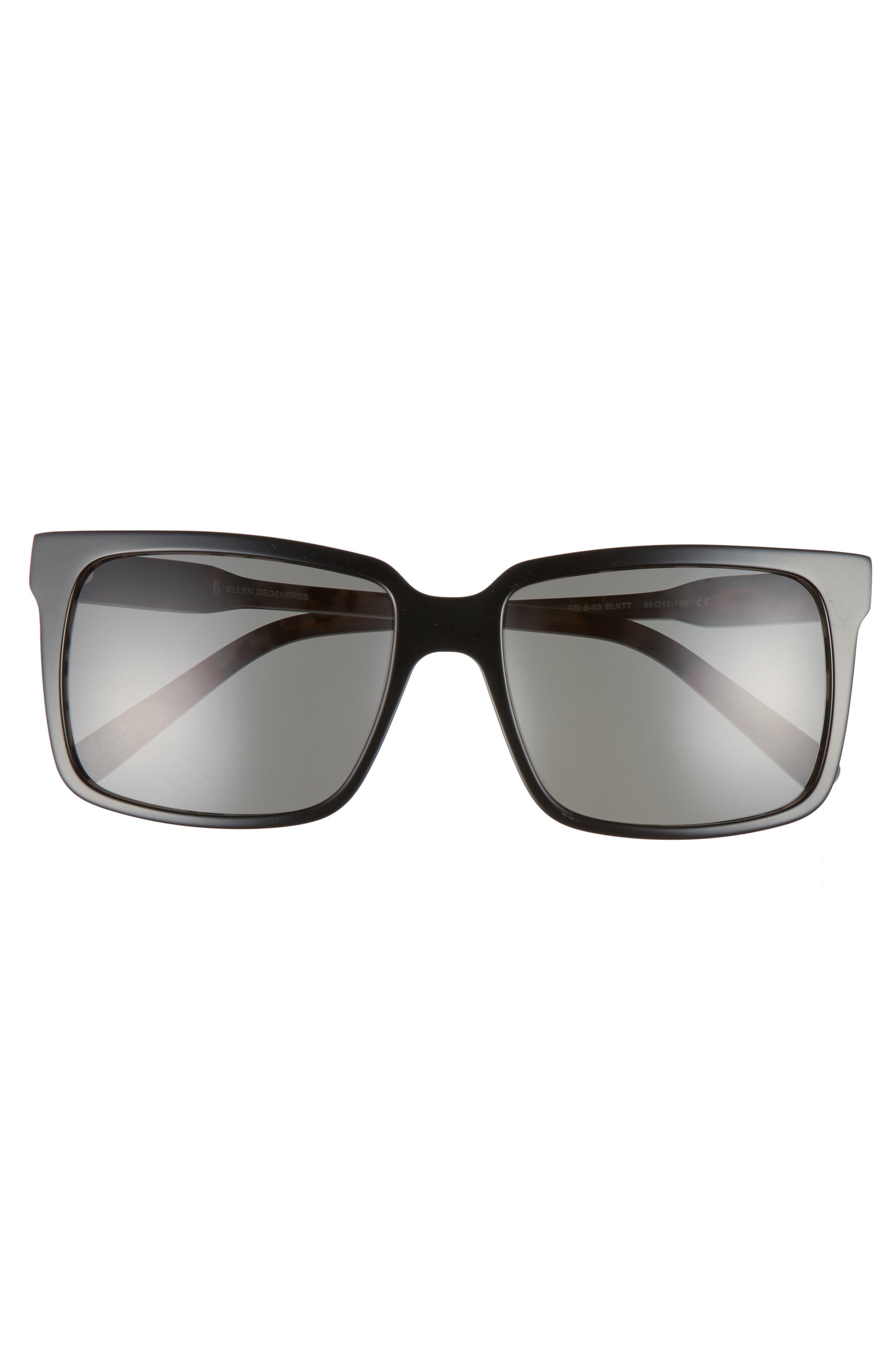 Alternate Image 3  - ED Ellen DeGeneres 56mm Gradient Square Sunglasses