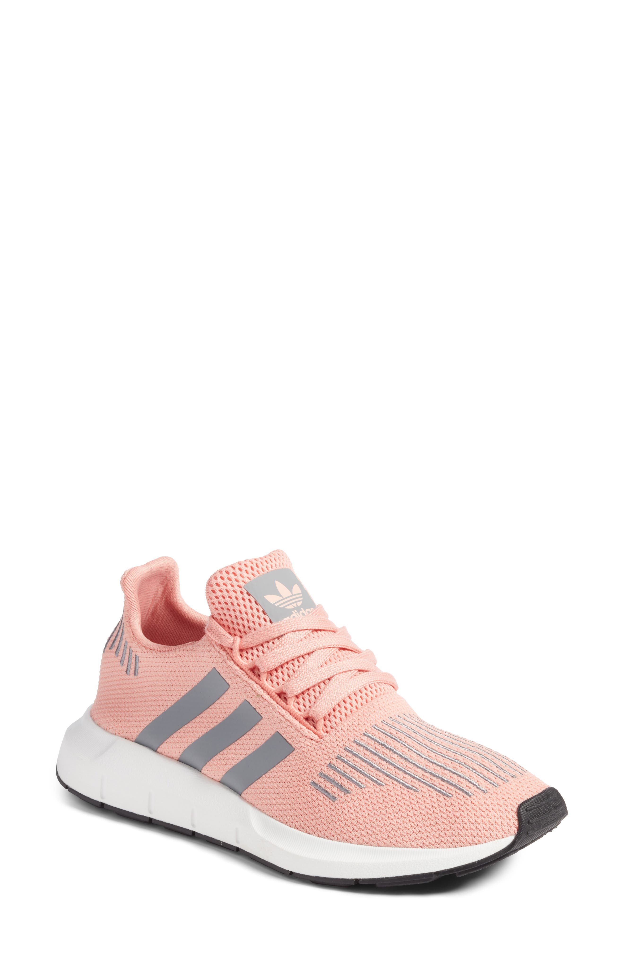 adidas shoes pink and white. adidas swift run sneaker (women) shoes pink and white