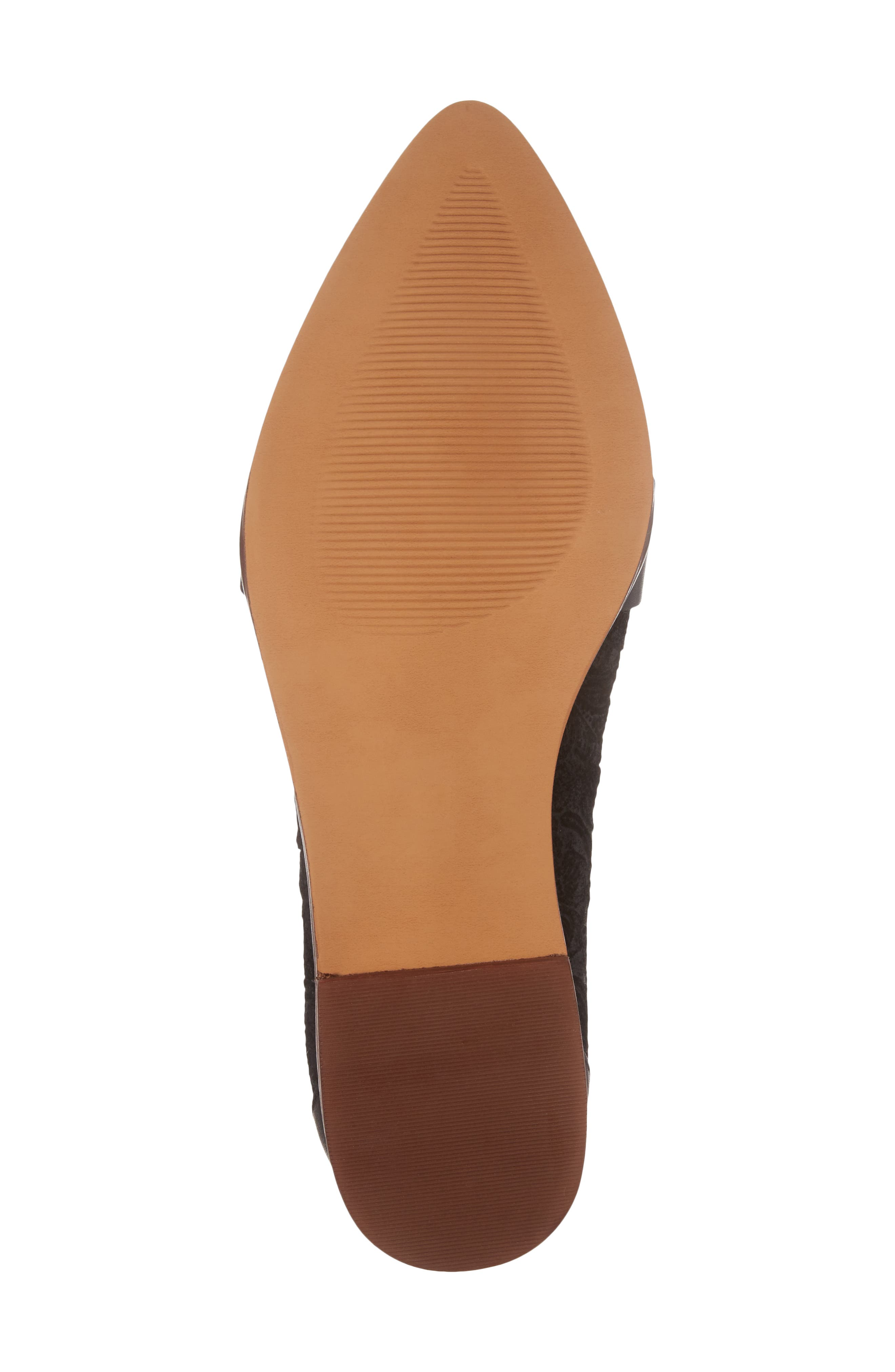 Alternate Image 6  - Sole Society Edie Pointy Toe Loafer (Women)