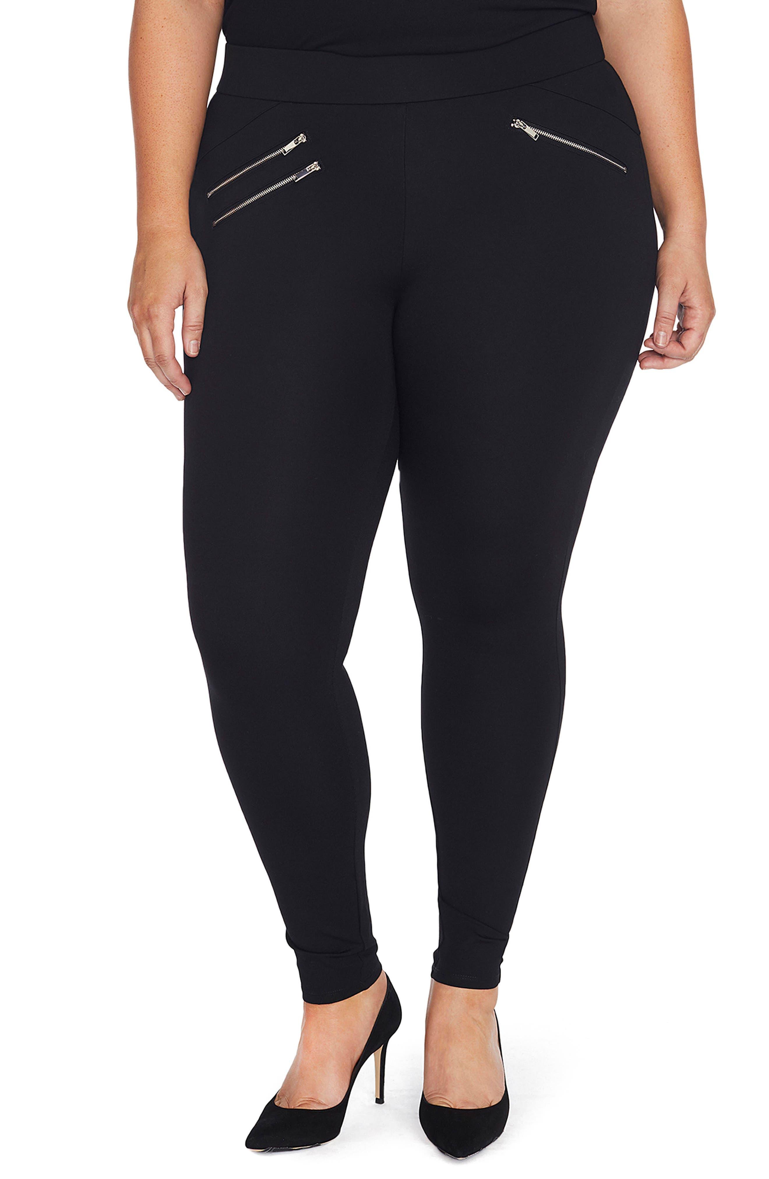 Main Image - REBEL WILSON X ANGELS Body Lift Skinny Leggings (Plus Size)