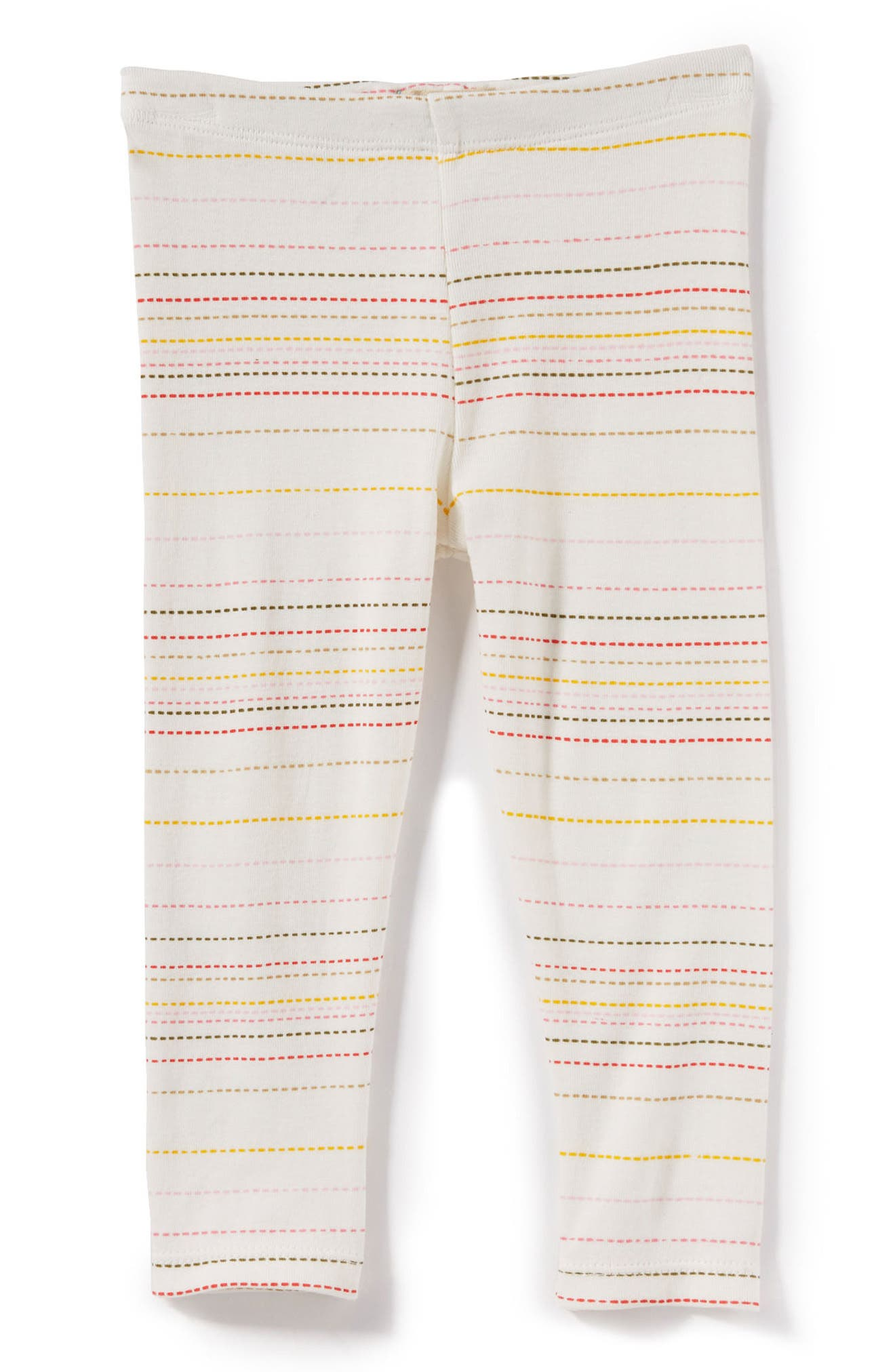 Peek Layla Stripe Leggings,                             Main thumbnail 1, color,                             Cream