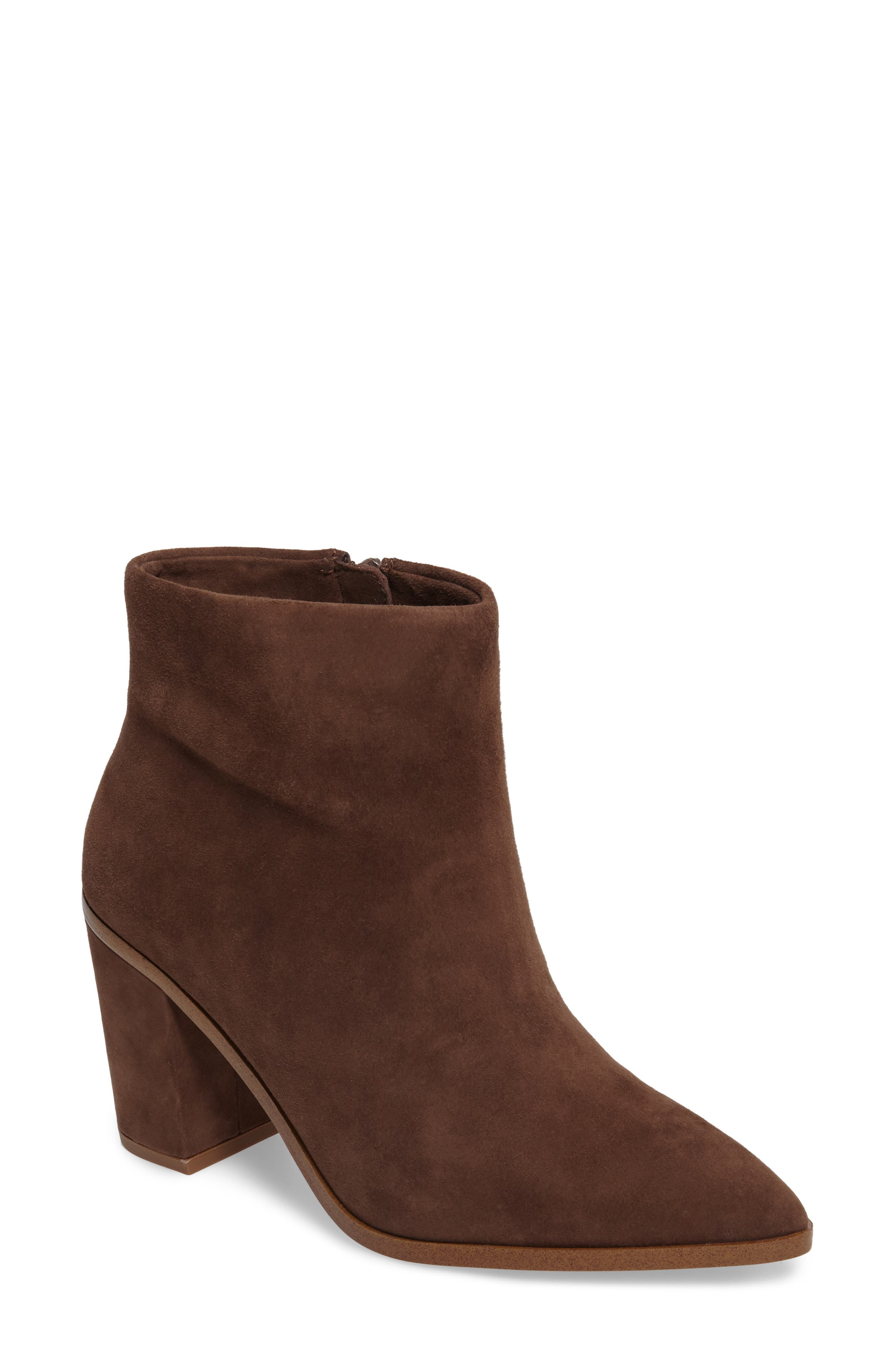 Alternate Image 1 Selected - 1.STATE Paven Pointy Toe Bootie (Women)