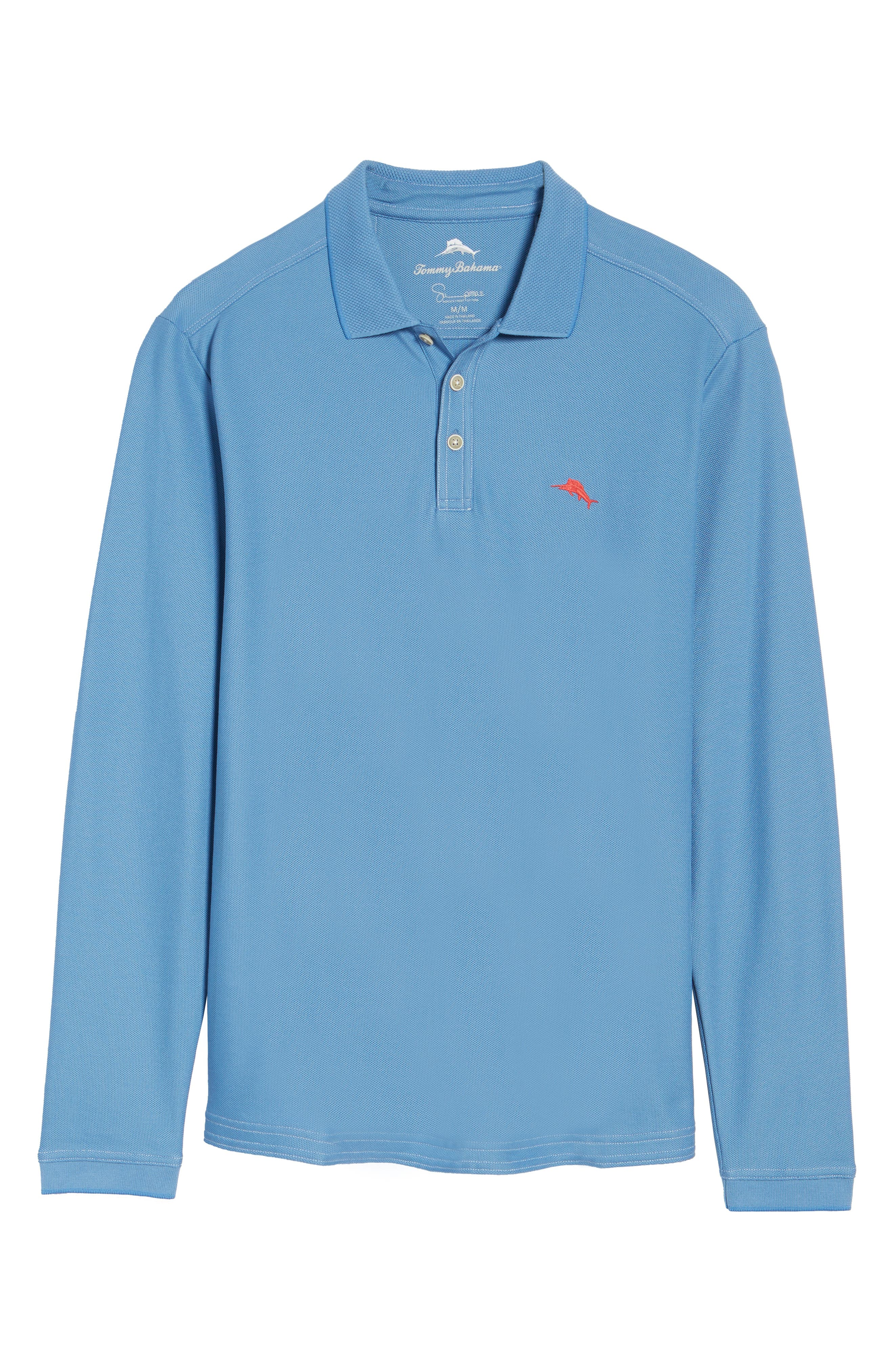 Alternate Image 6  - Tommy Bahama Emfielder Long Sleeve Polo