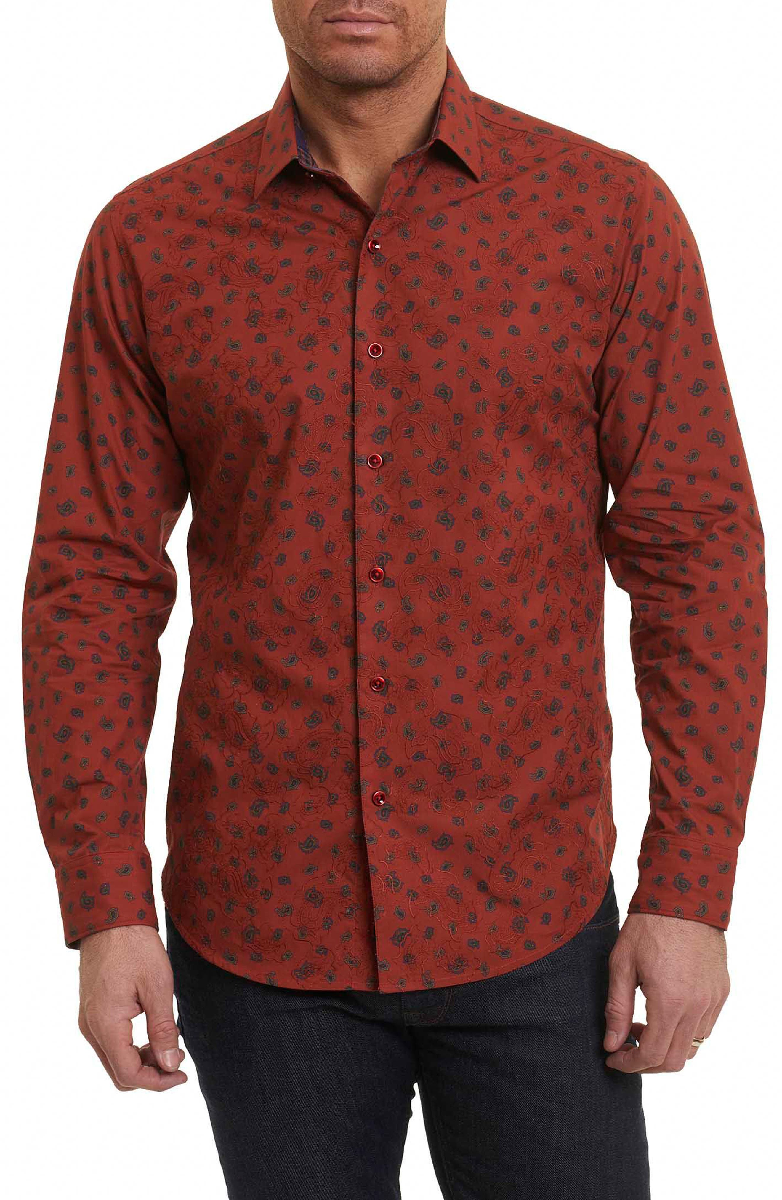 Robert Graham Cold Spring Classic Fit Paisley Sport Shirt