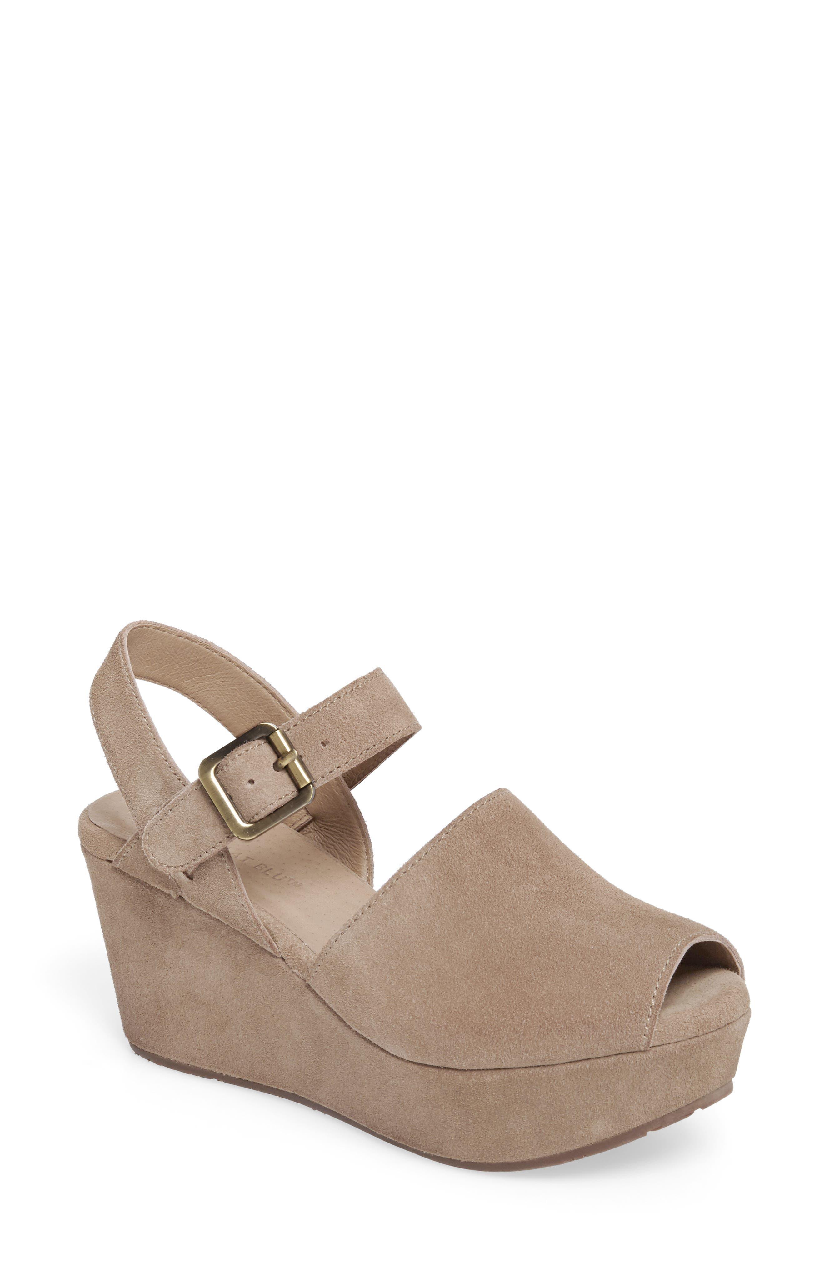 Alternate Image 1 Selected - Chocolat Blu Wagga Platform Wedge Sandal (Women)