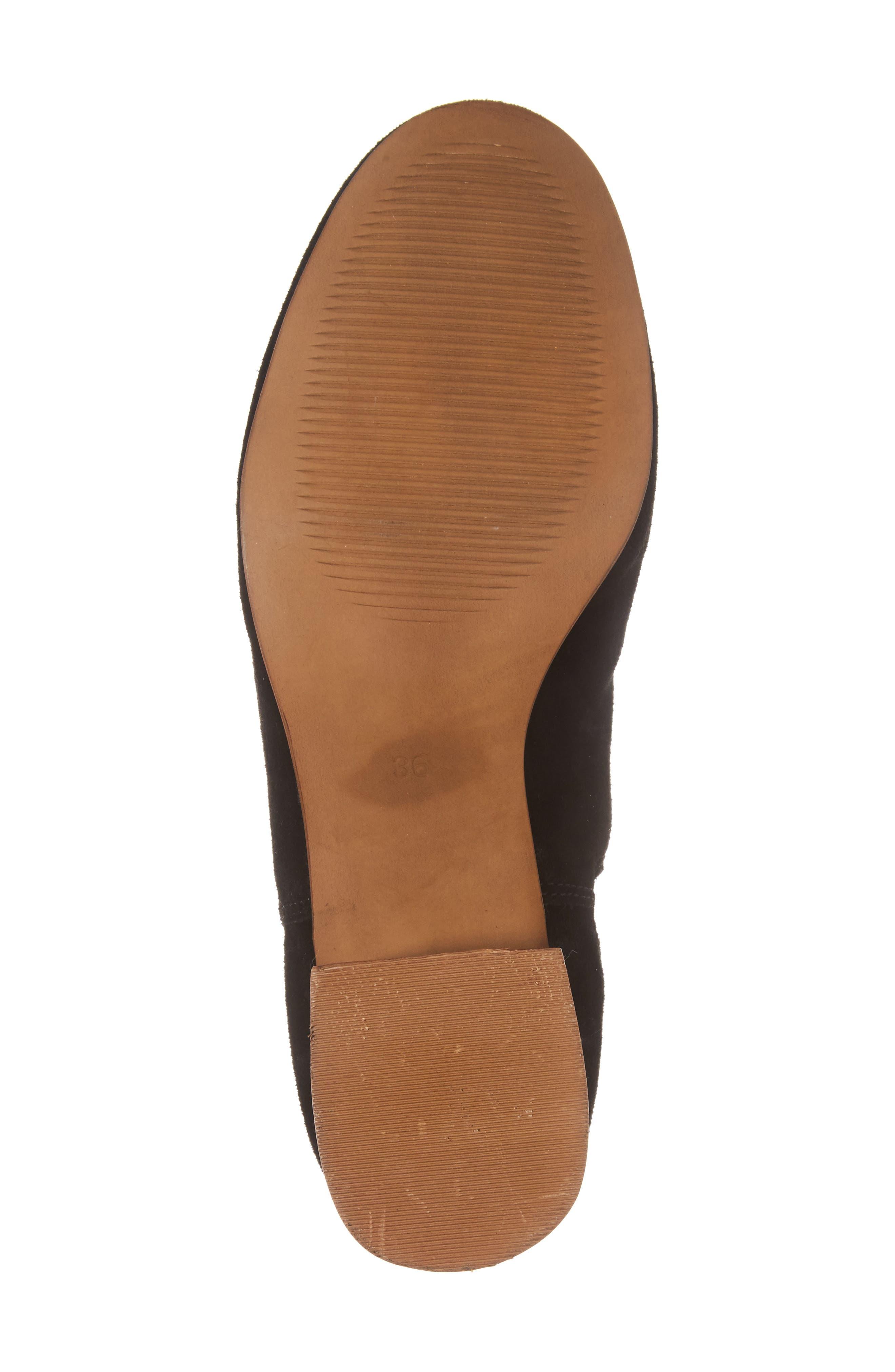 Barley Chelsea Boot,                             Alternate thumbnail 5, color,                             Black