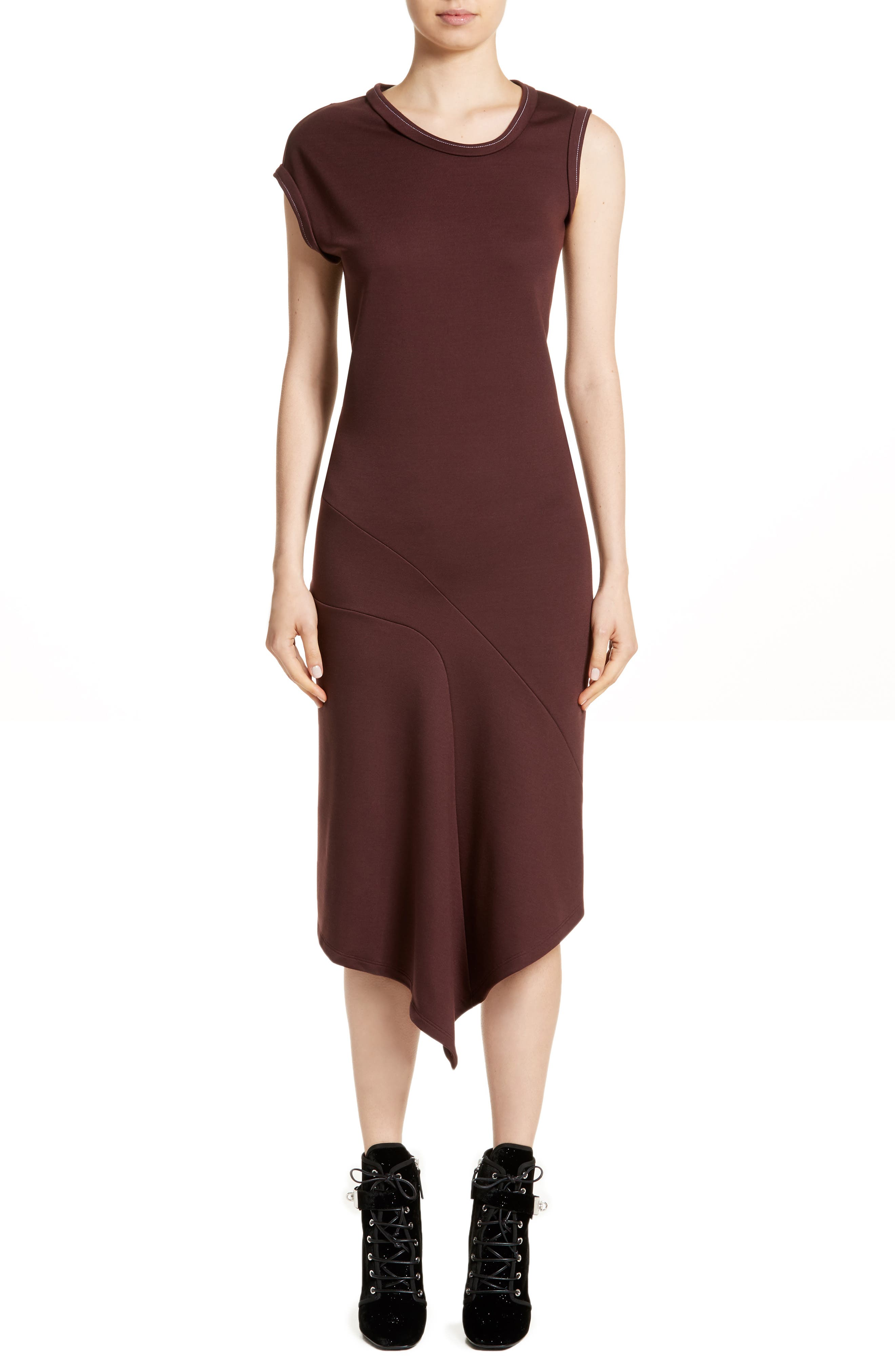 Main Image - Atlein Jersey Midi Dress