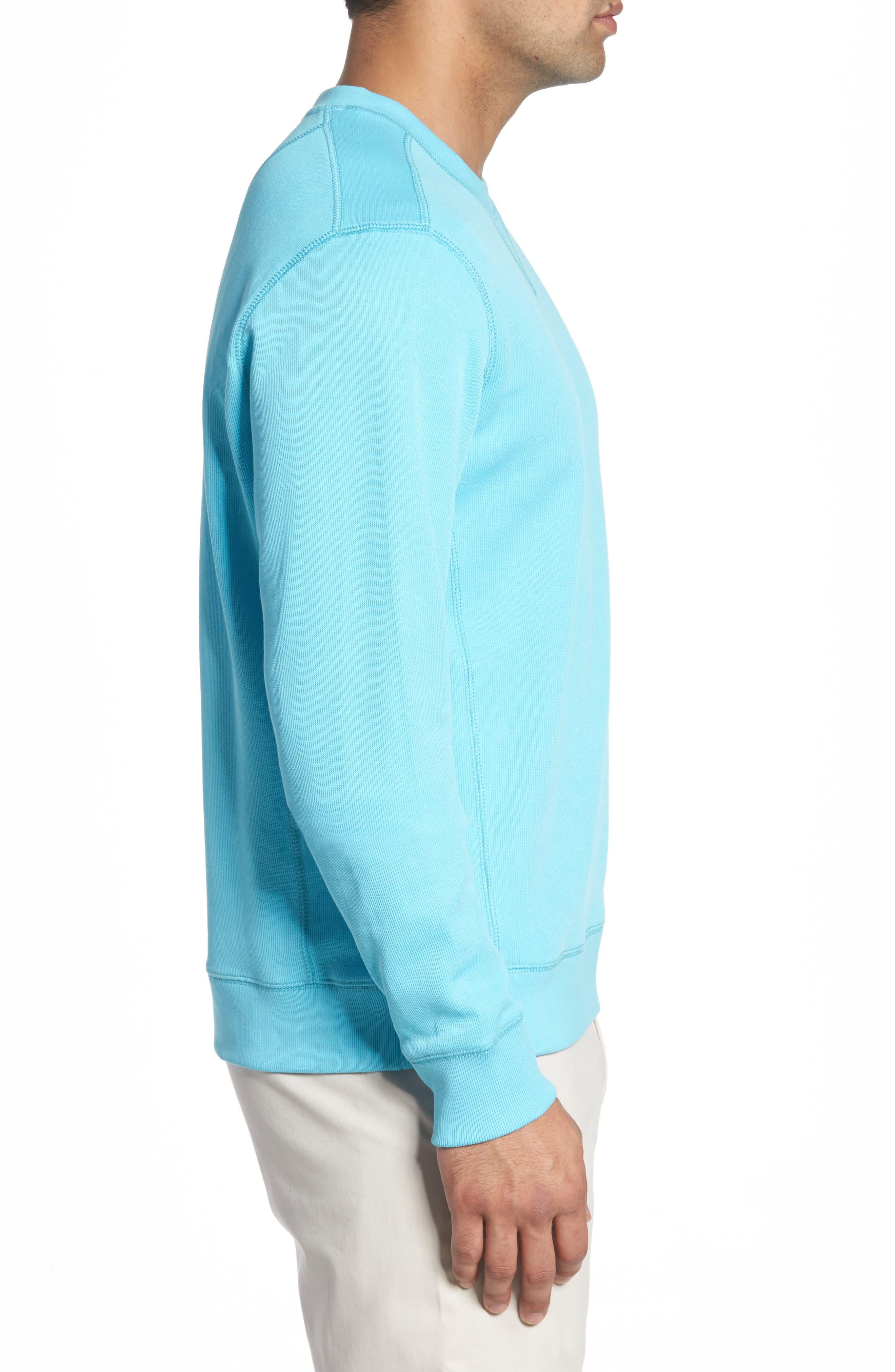 Alternate Image 3  - Cutter & Buck Bayview Crewneck Sweatshirt