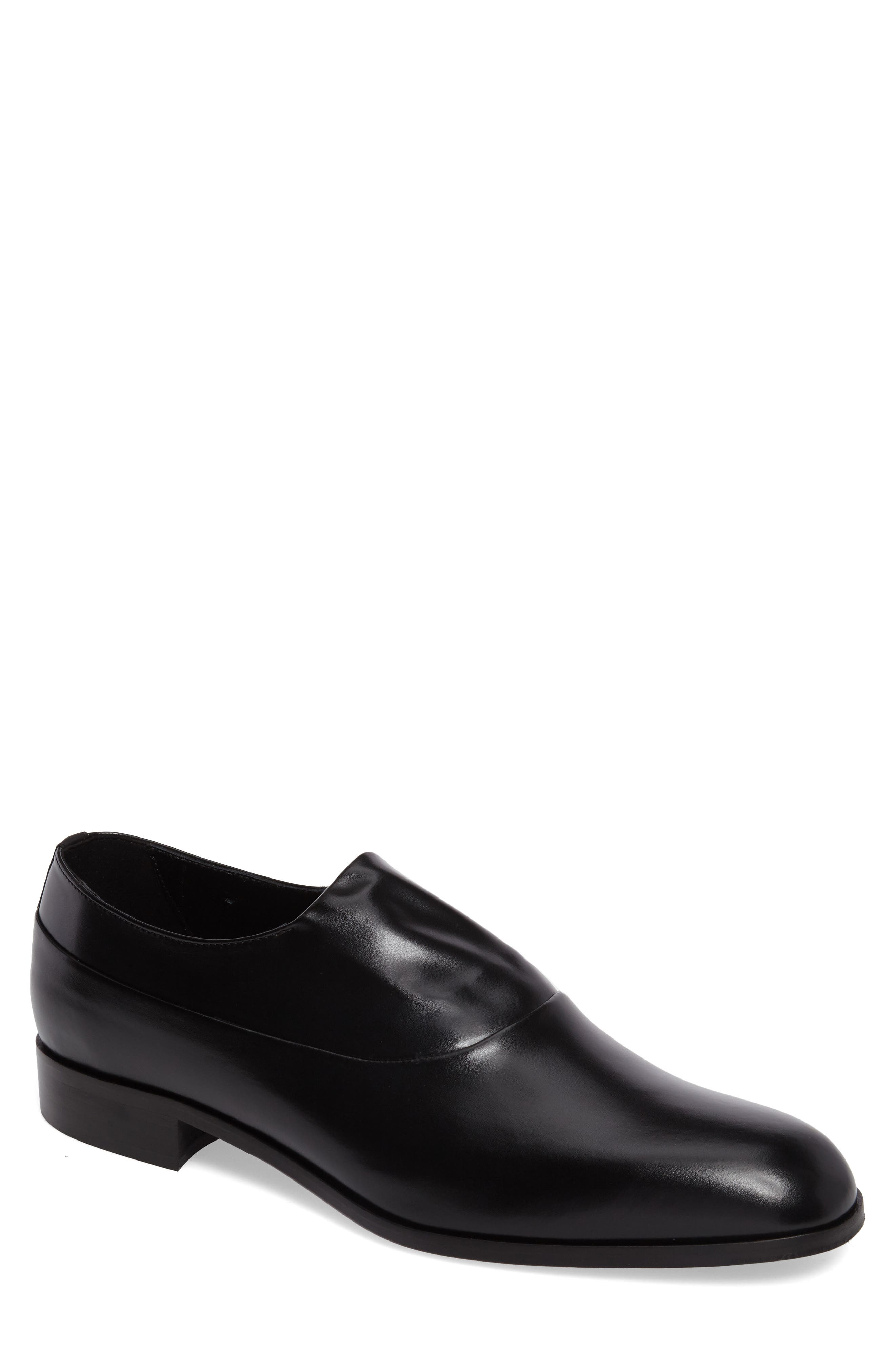Marcio Venetian Loafer,                             Main thumbnail 1, color,                             Black