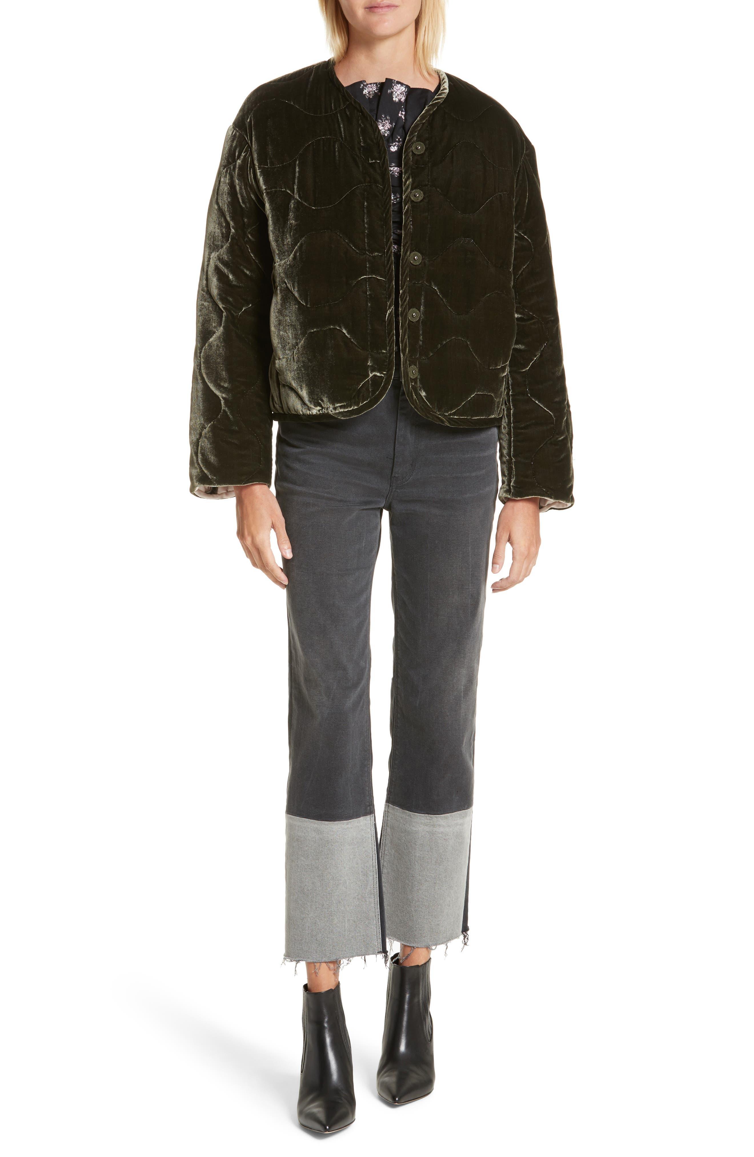 Alternate Image 2  - La Vie Rebecca Taylor Patch Jeans
