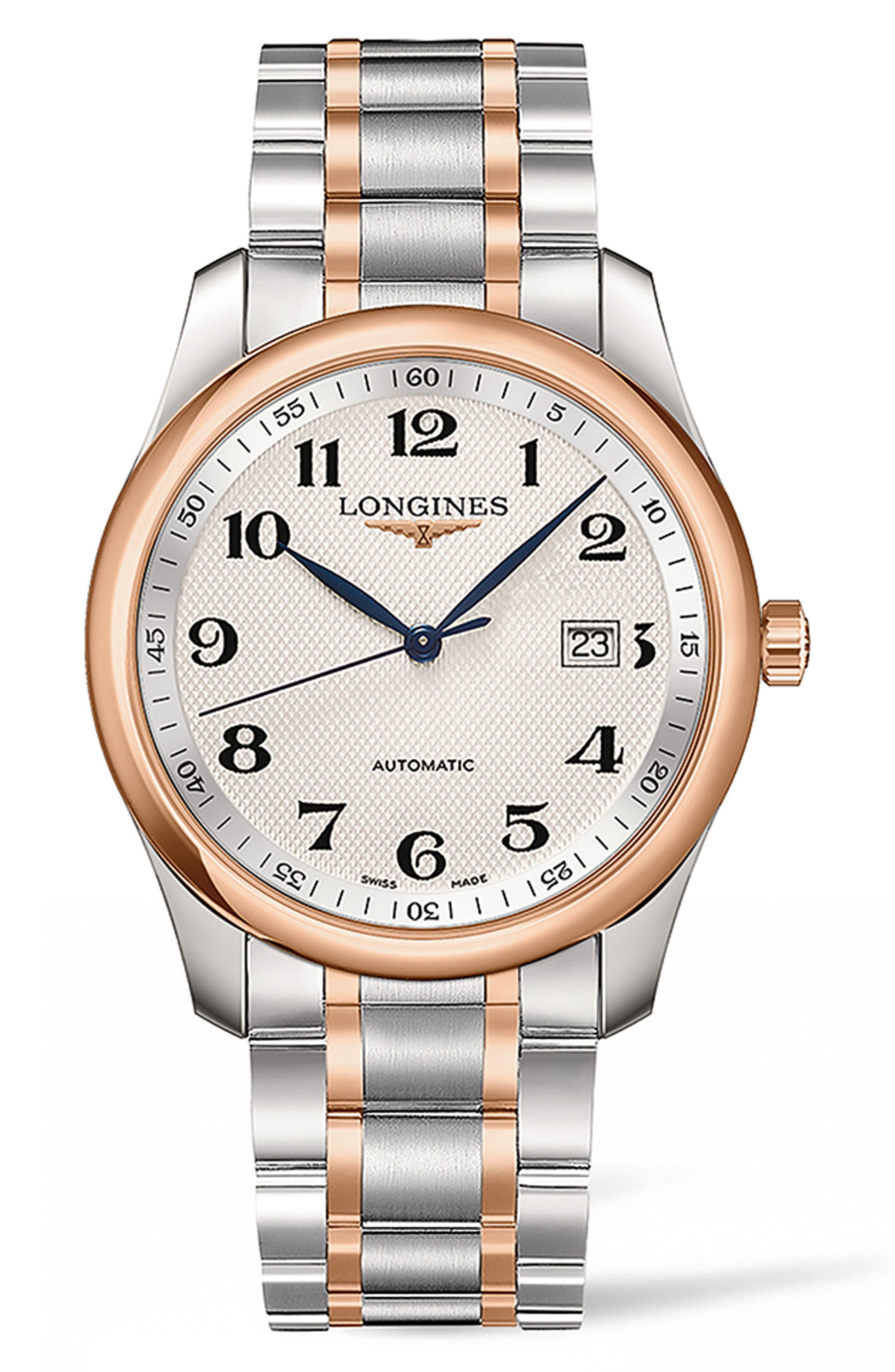 Longines Master Automatic Bracelet Watch, 40mm