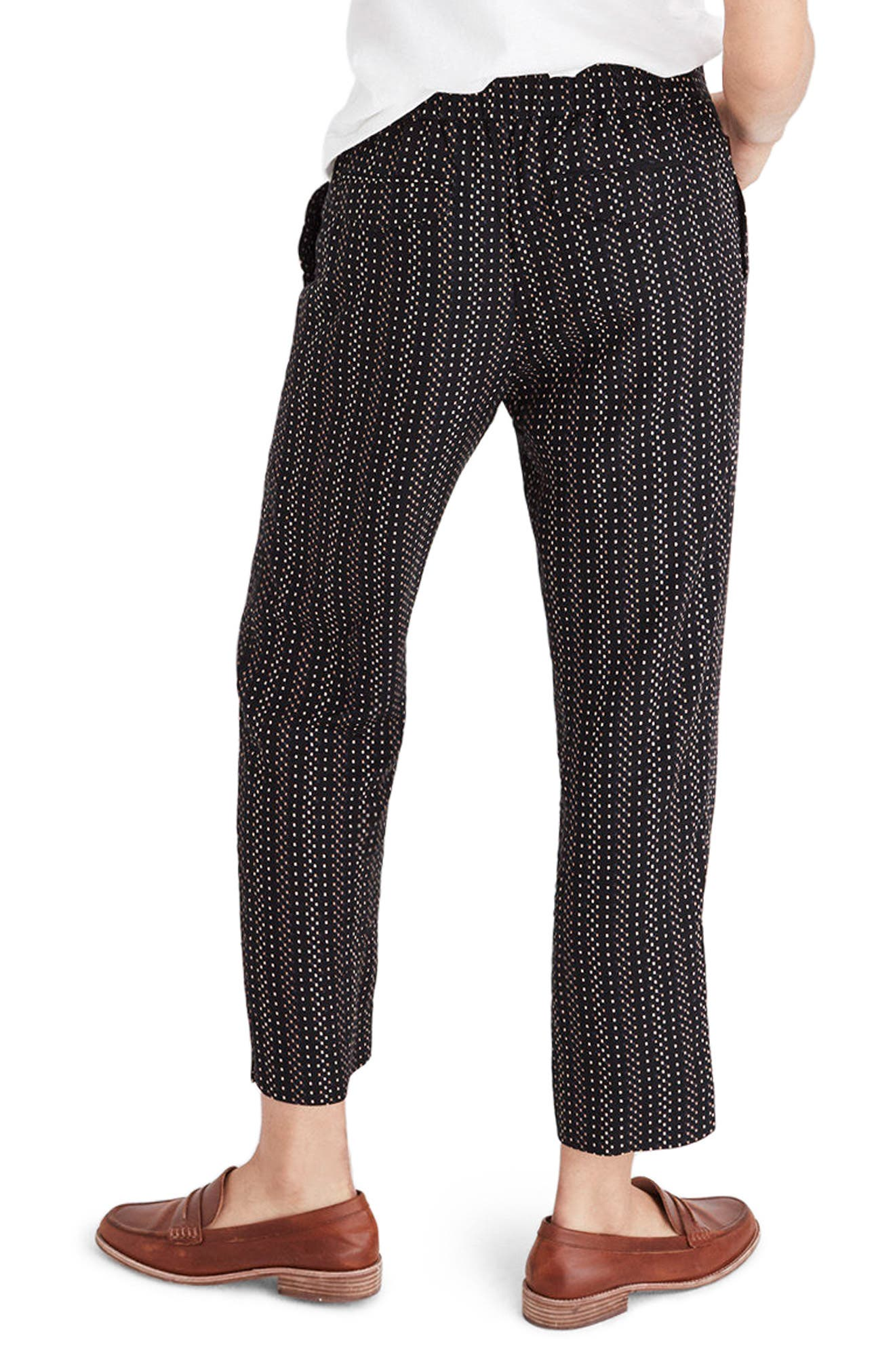 Alternate Image 2  - Madewell High Waist Crop Track Trousers