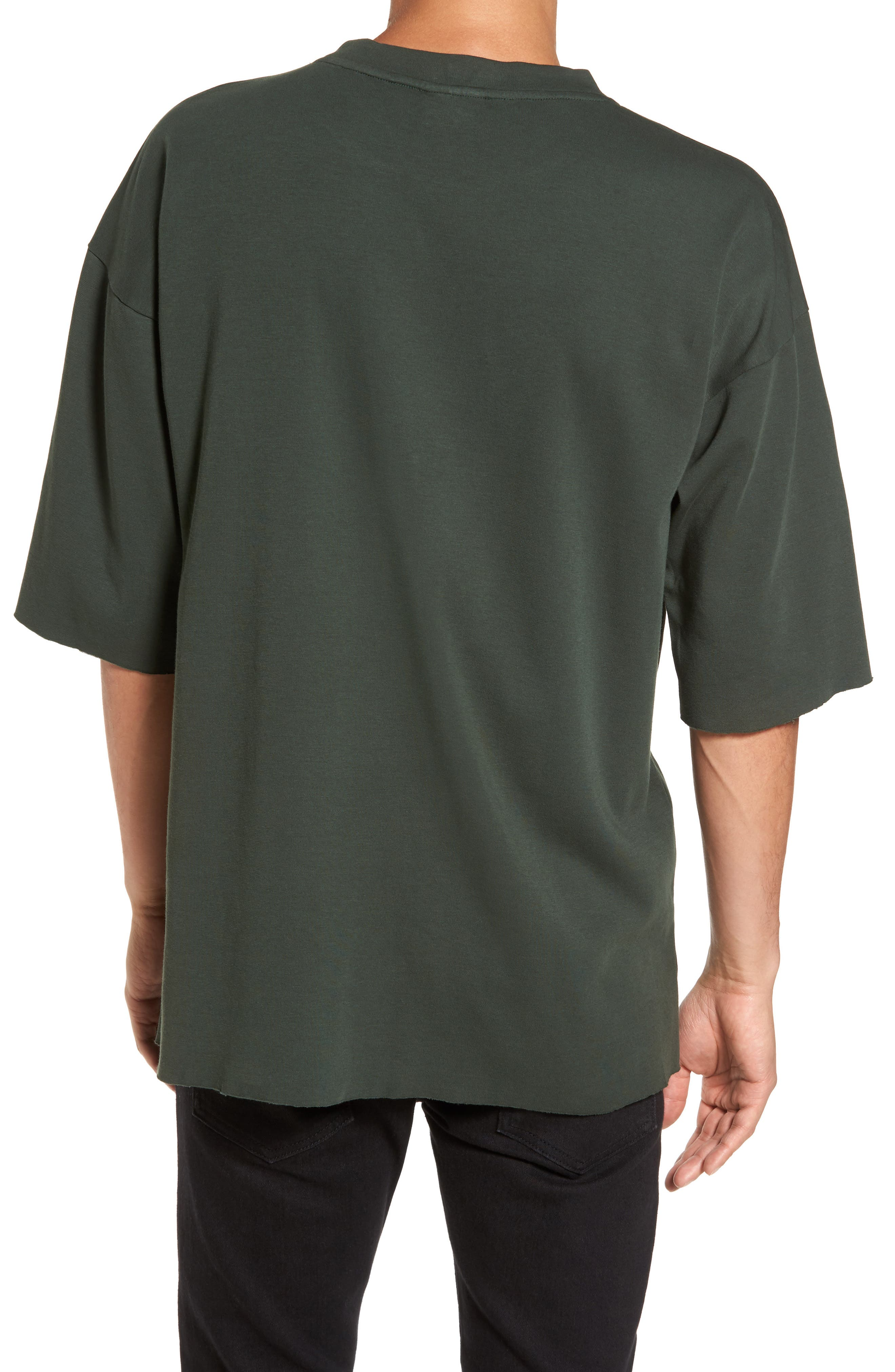 Mauno Pocket T-Shirt,                             Alternate thumbnail 2, color,                             Riot Green
