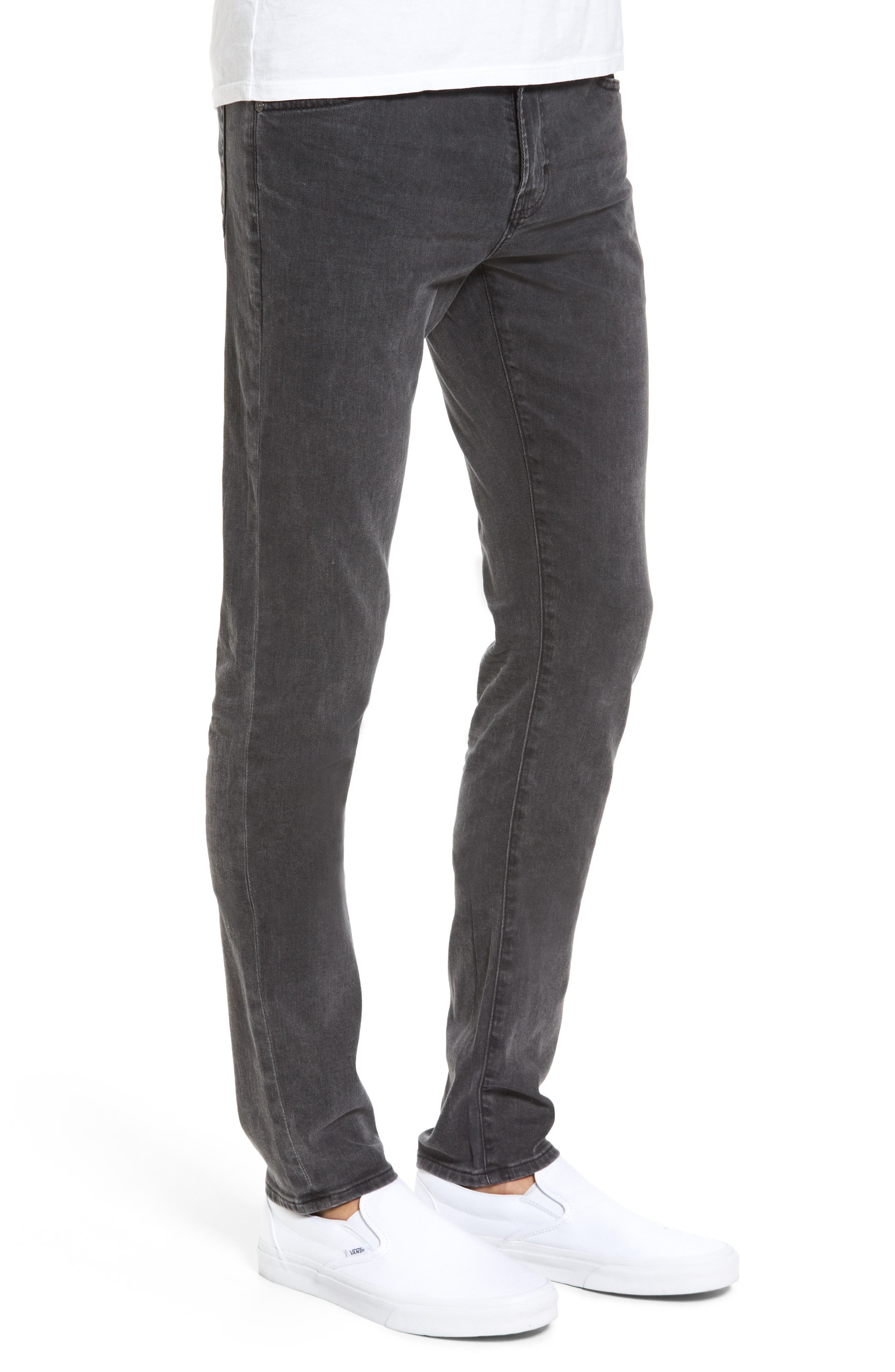Alternate Image 3  - AG Stockton Skinny Fit Jeans (10 Years Black Dunes)