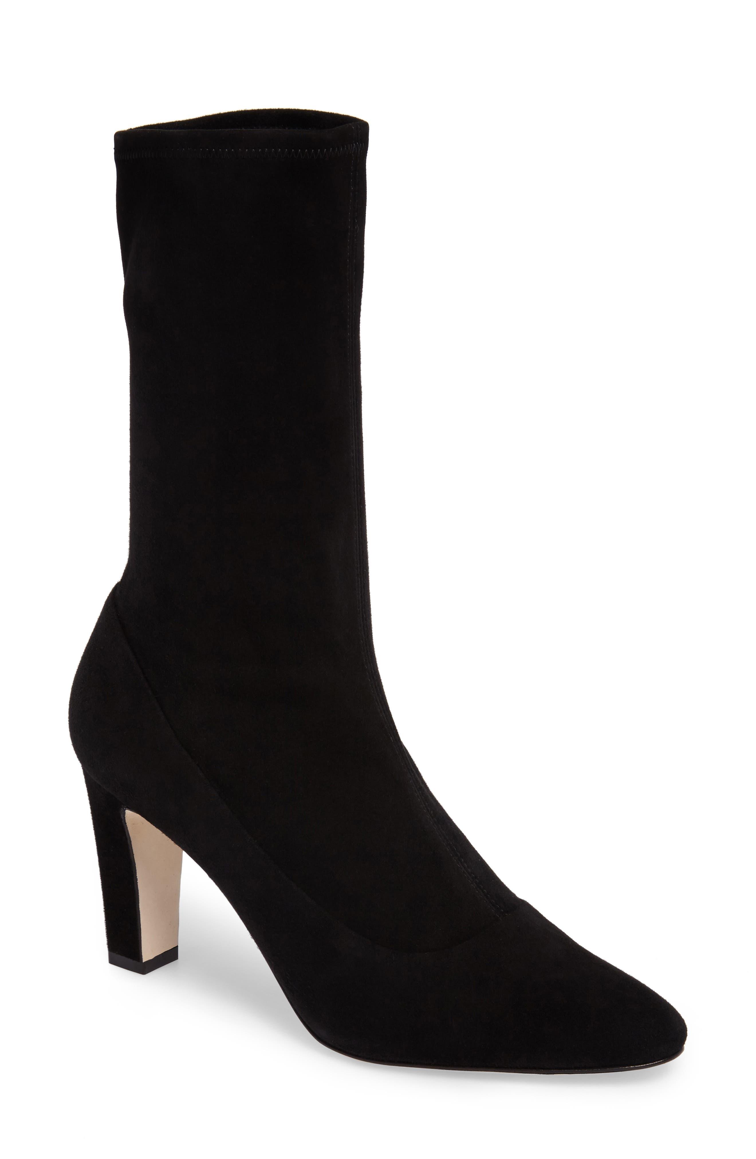 Manolo Blahnik Todi Sock Bootie (Women)
