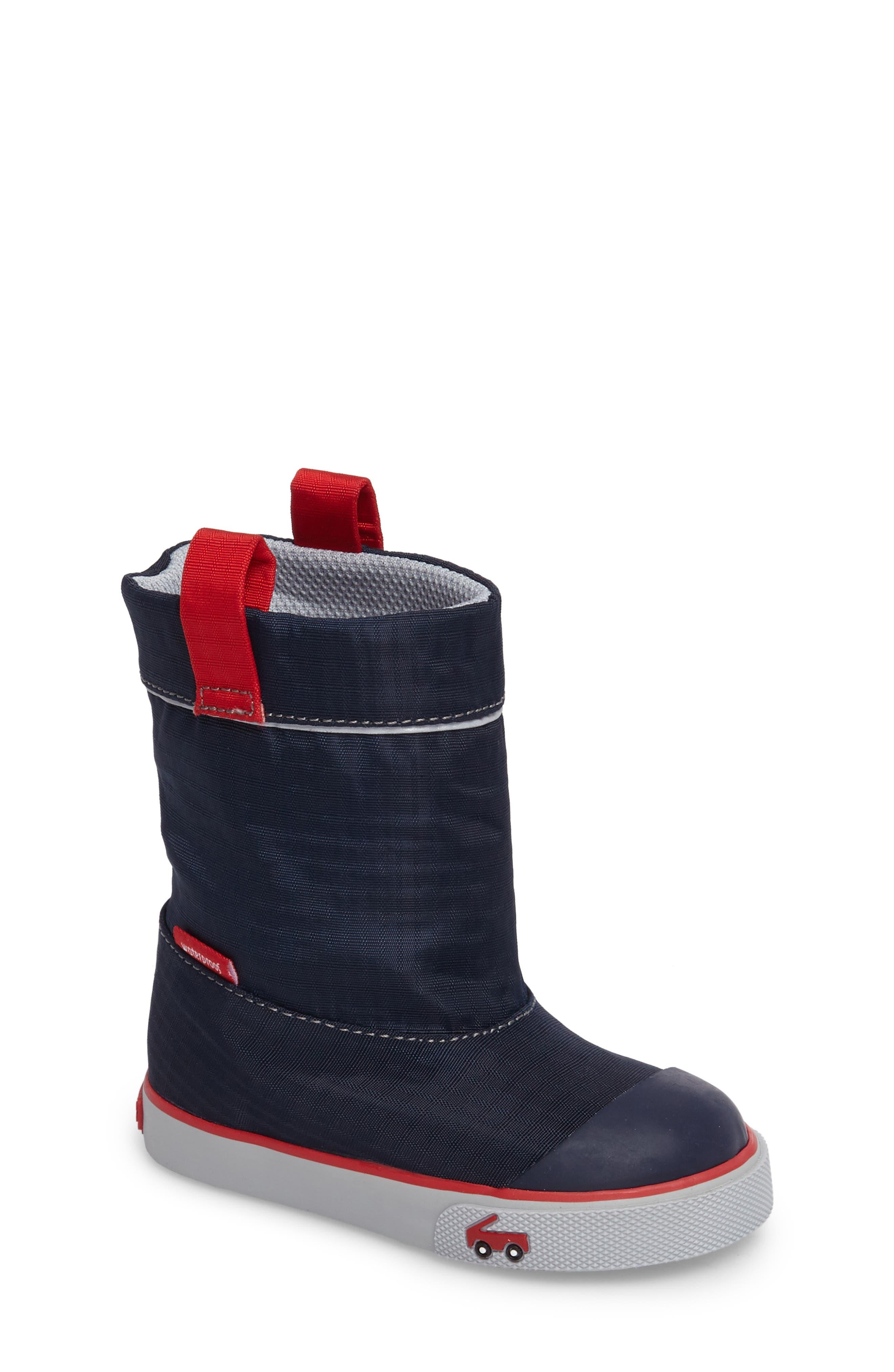 See Kai Run Montlake Waterproof Boot (Baby, Walker & Toddler)