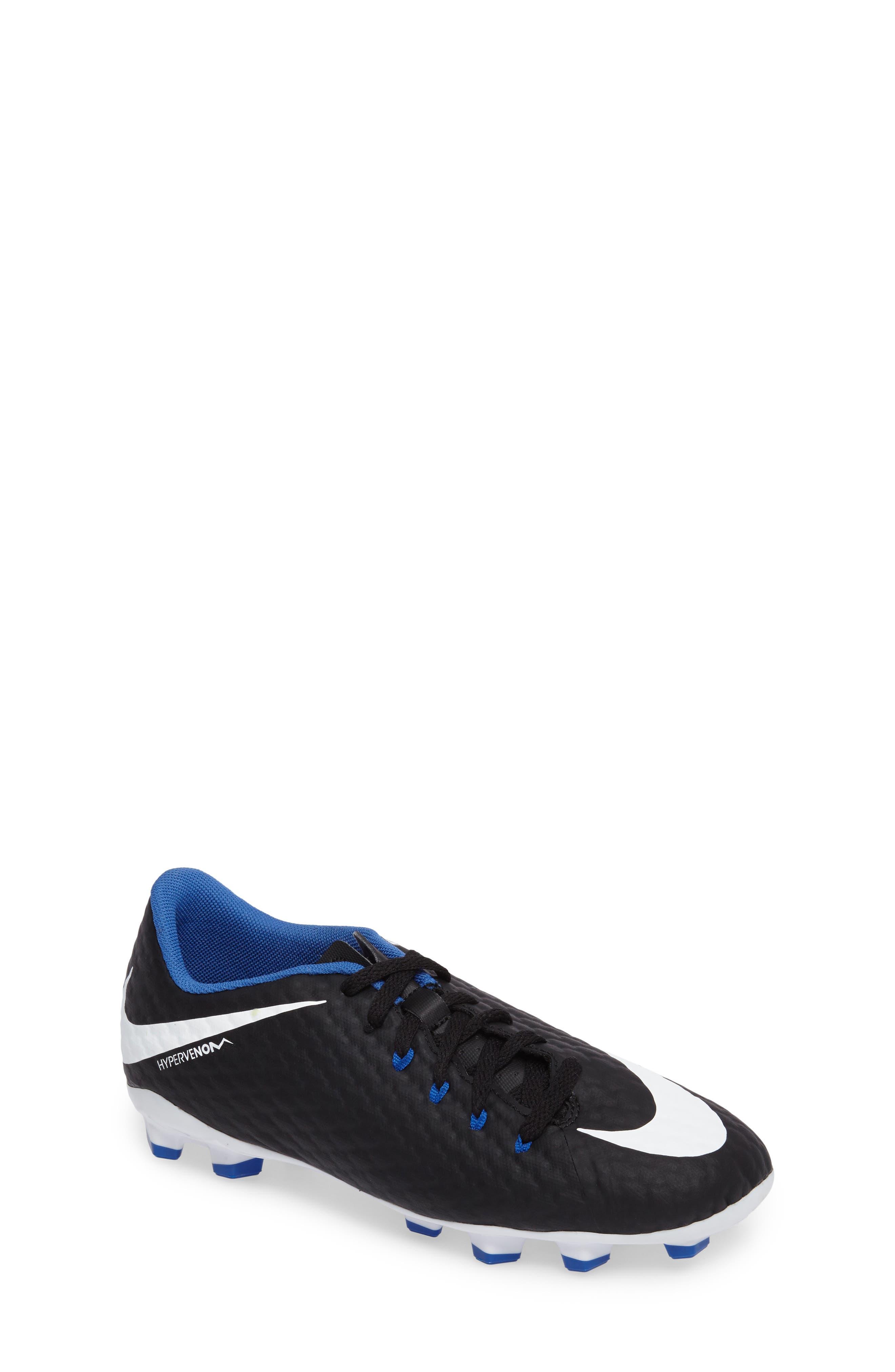 Nike Hypervenom Phelon III Firm-Ground Soccer Cleat (Toddler, Little Kid & Big Kid)