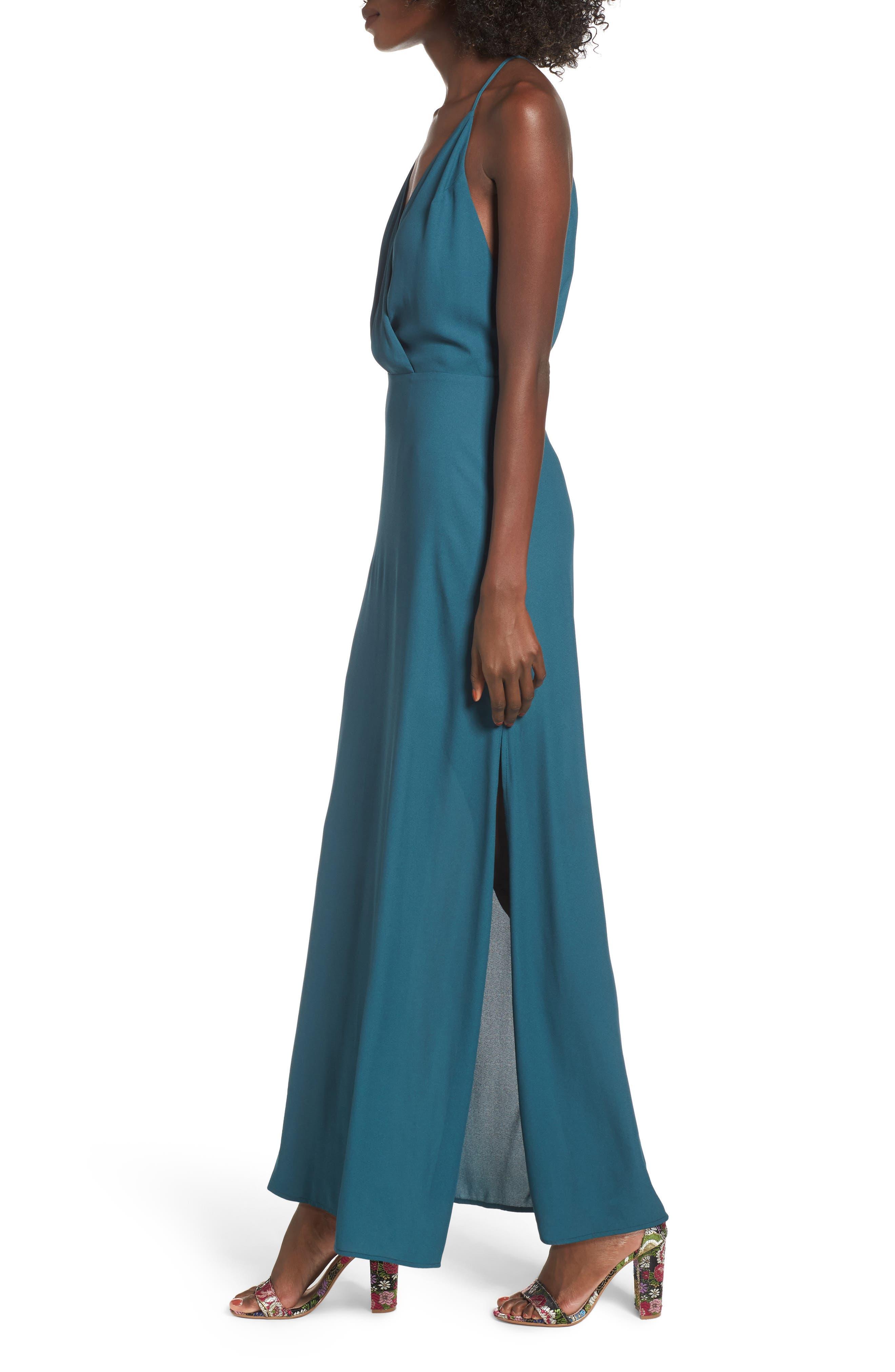 Alternate Image 4  - Surplice Maxi Dress