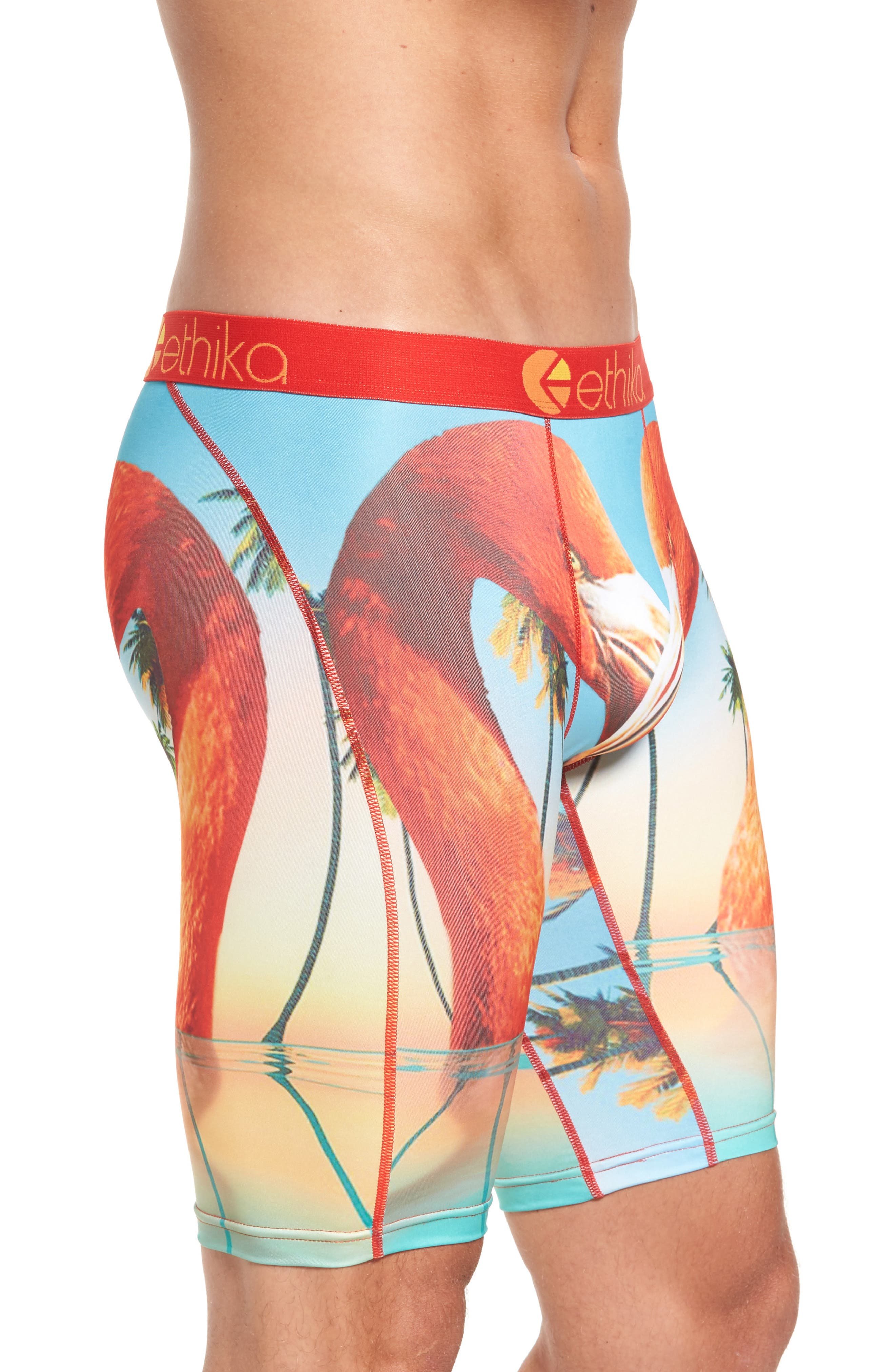 Alternate Image 3  - Ethika Flamingo Island Boxer Briefs