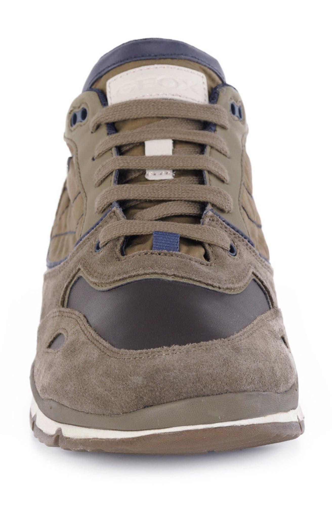 Sandro ABX Ambphibiox Waterproof Sneaker,                             Alternate thumbnail 4, color,                             Taupe