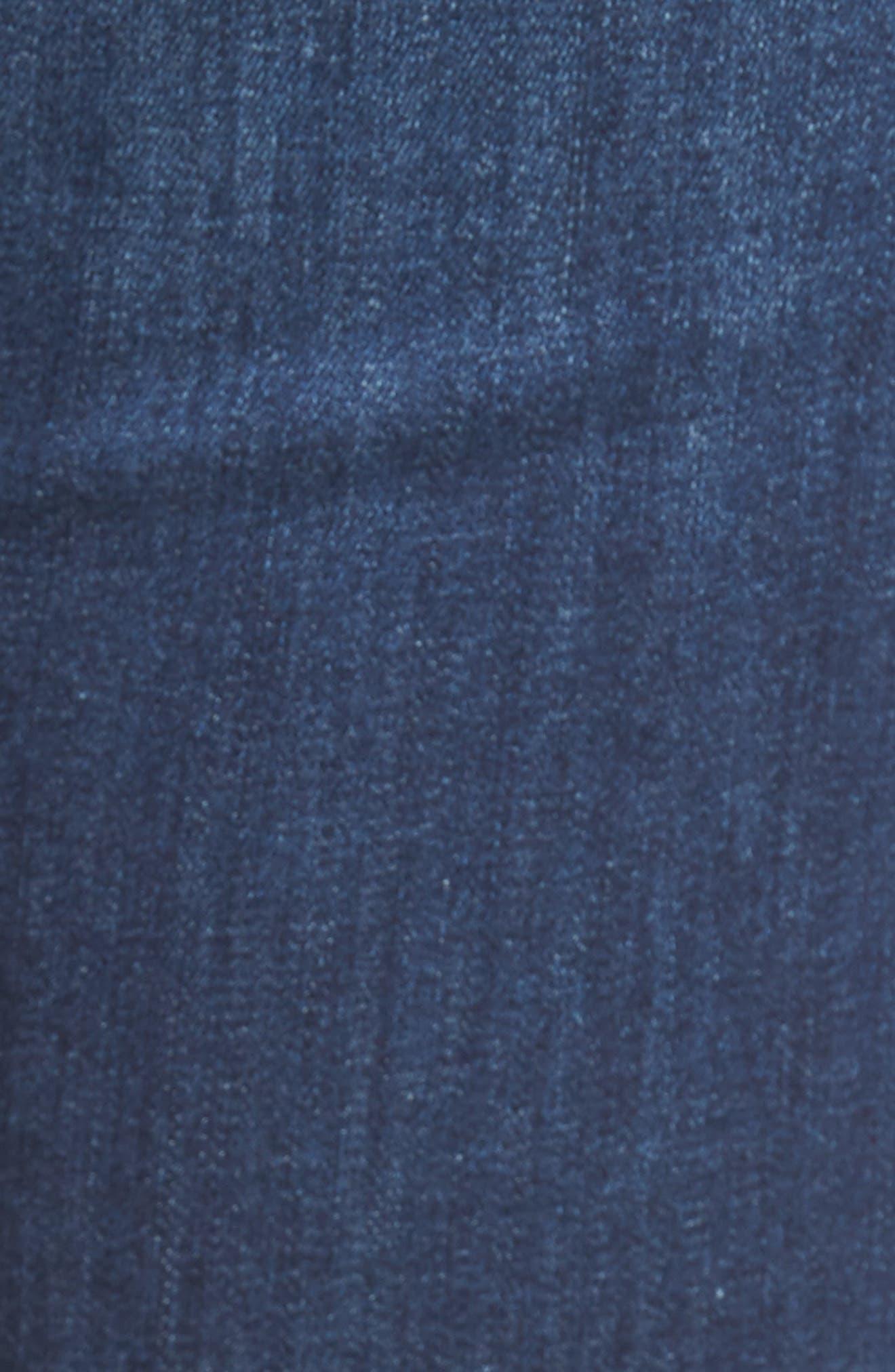 Alissa Super Skinny Jeans,                             Alternate thumbnail 5, color,                             Dark Indigo Tribeca